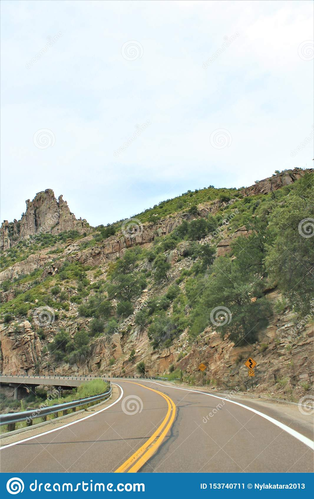Berg Lemmon, Santa Catalina Mountains, Coronado-staatlicher Wald, Tucson, Arizona, Vereinigte Staaten