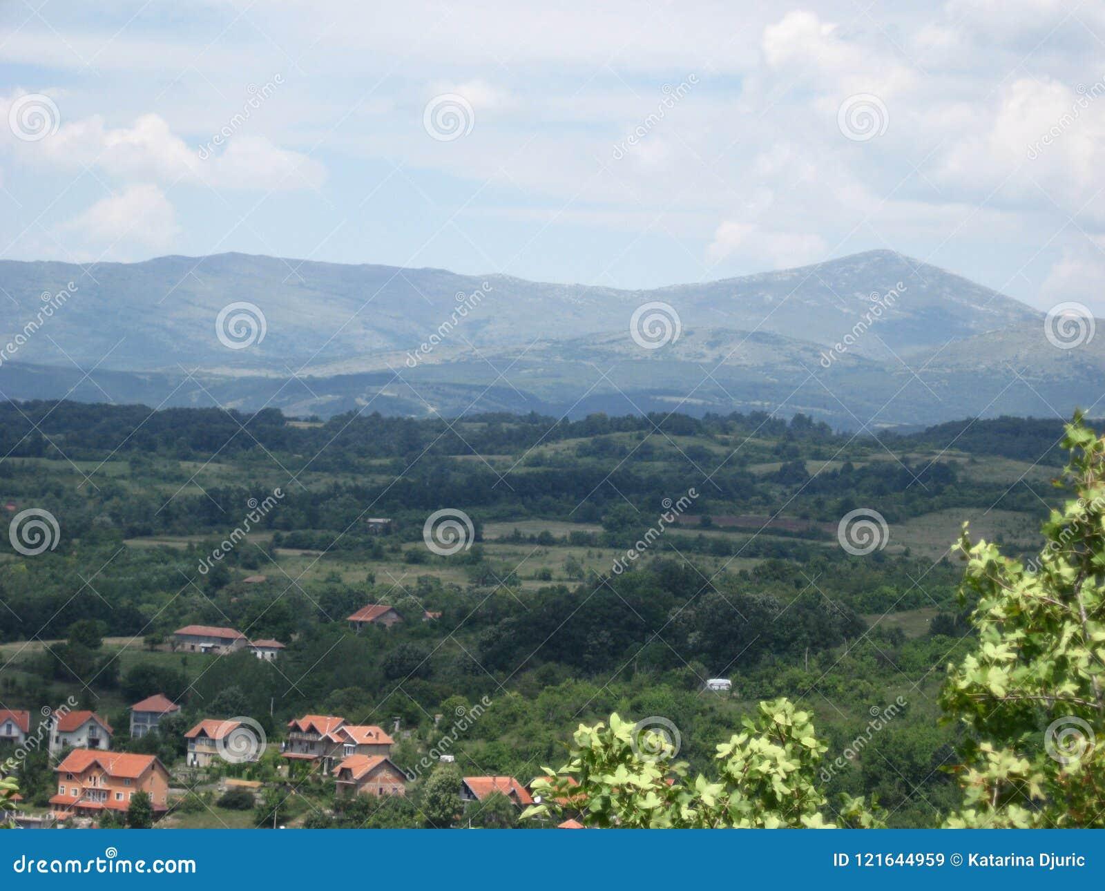 Berg, Rtanj, Popovica, Gezichtspunt, Sokobanja, Servië