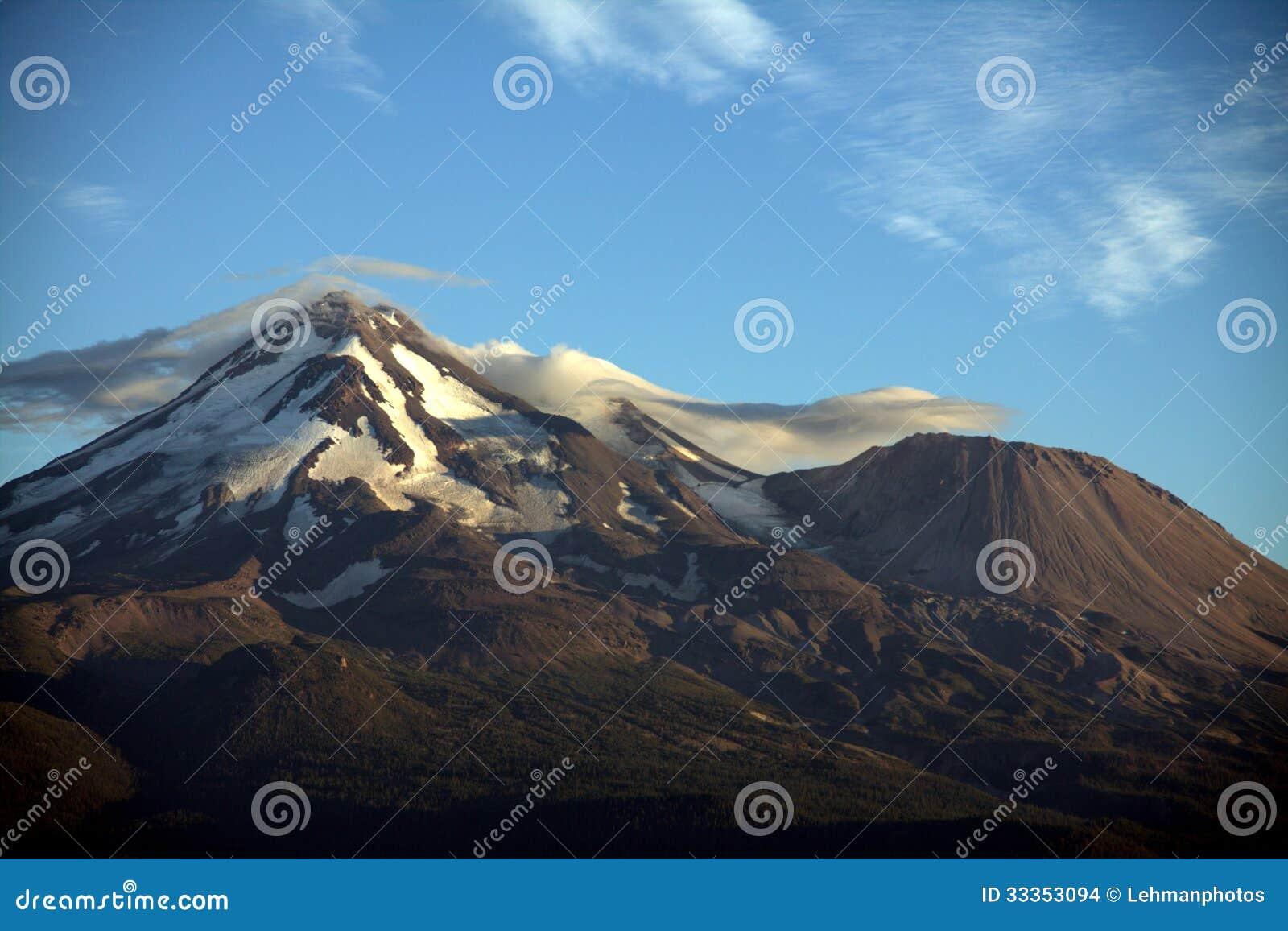 Berg Shasta-Ansicht