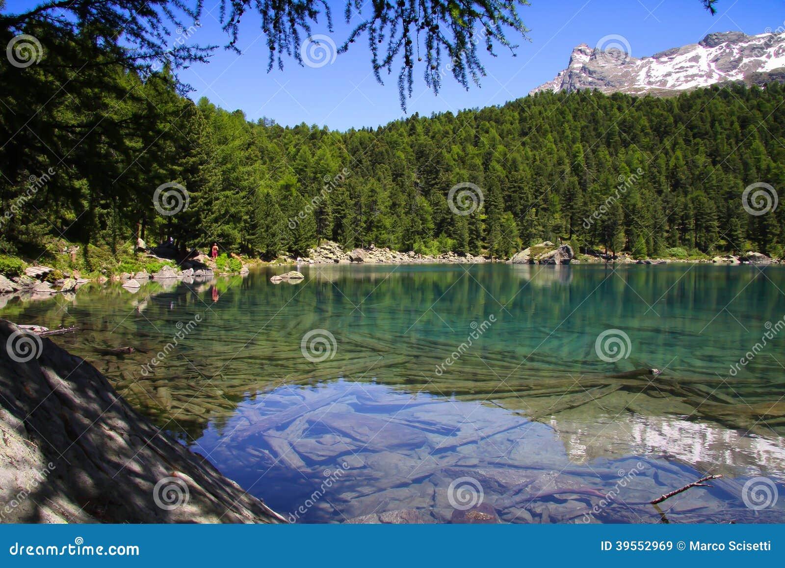 Berg sjö