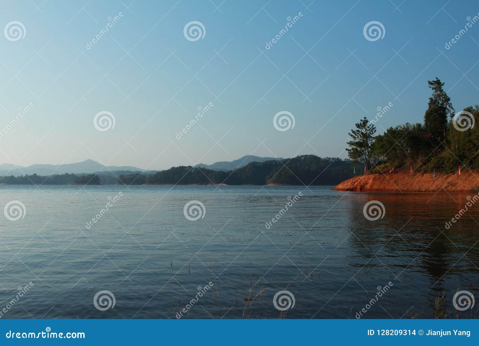 Berg, skog och sjö