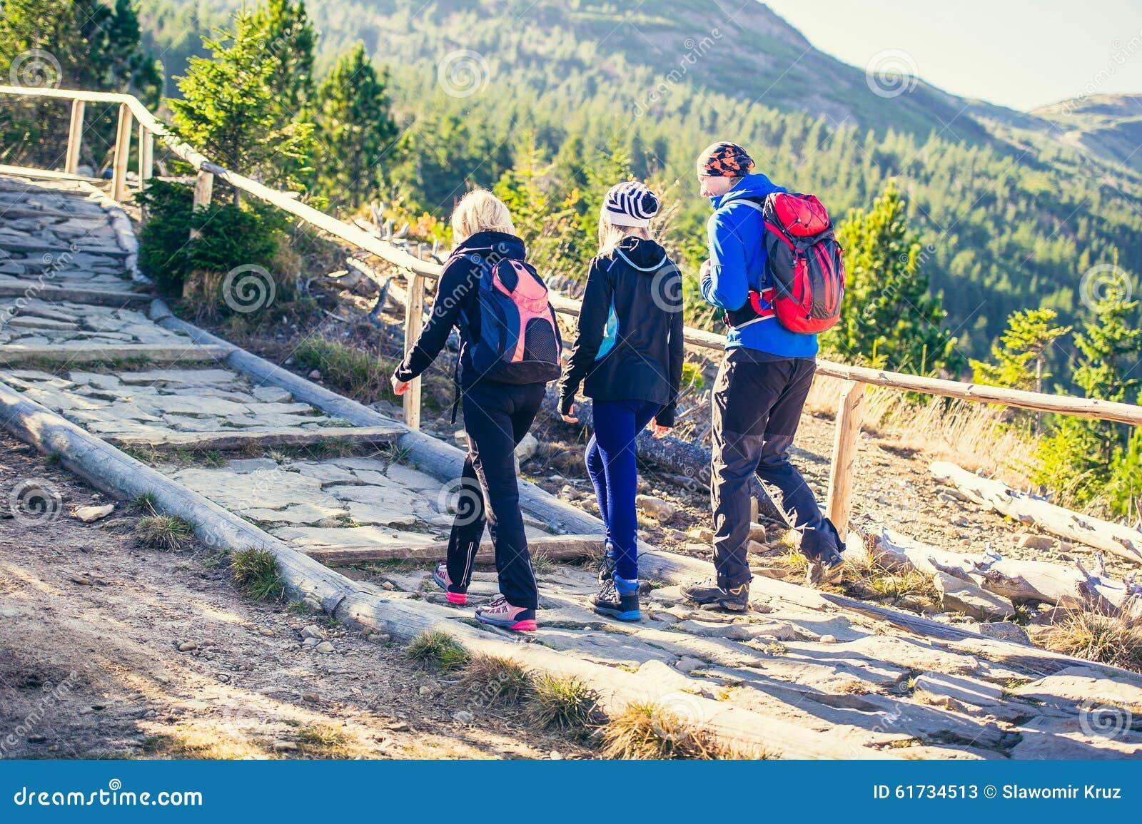 Berg som trekking