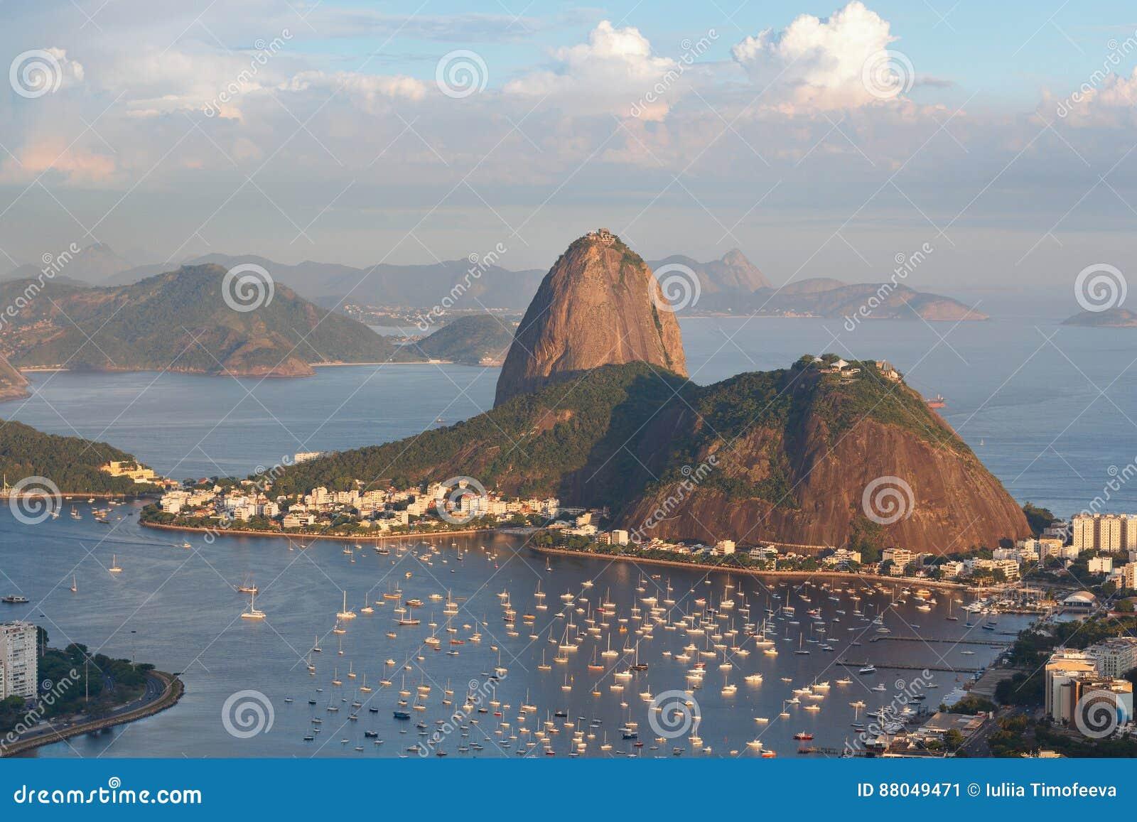 Berg Sugarloaf, Rio de Janeiro, Brazilië