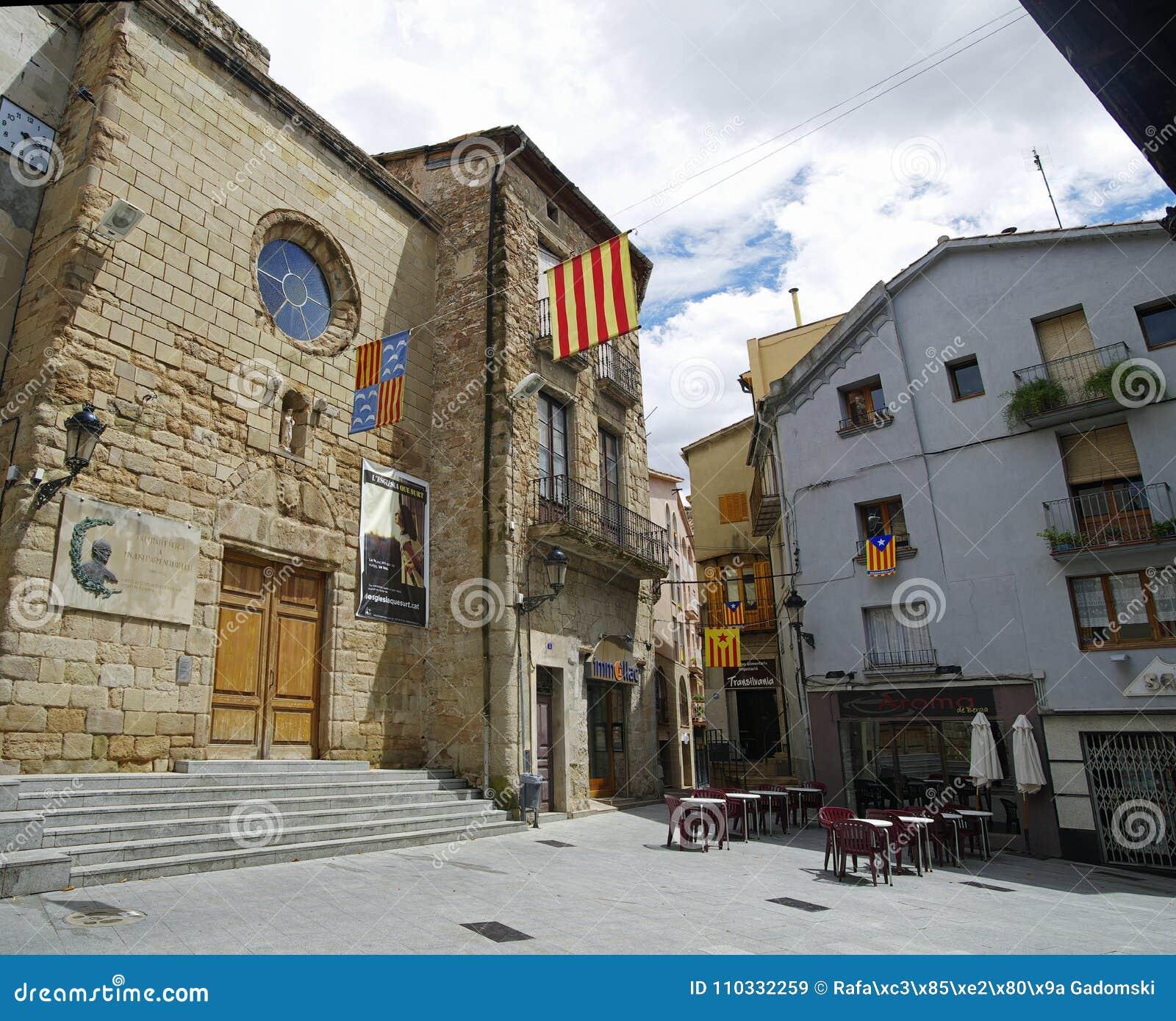 Berga espa a 28 de junio de 2017 la ciudad catalana - Ciudad de berga ...