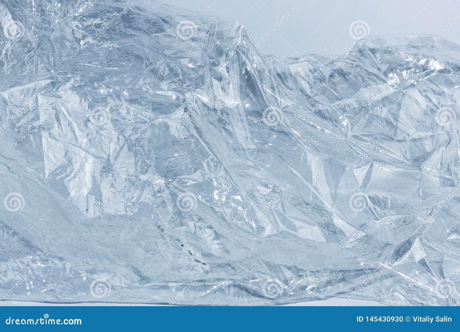 Bergachtergrond, mooi de winterijs, blauwe textuur