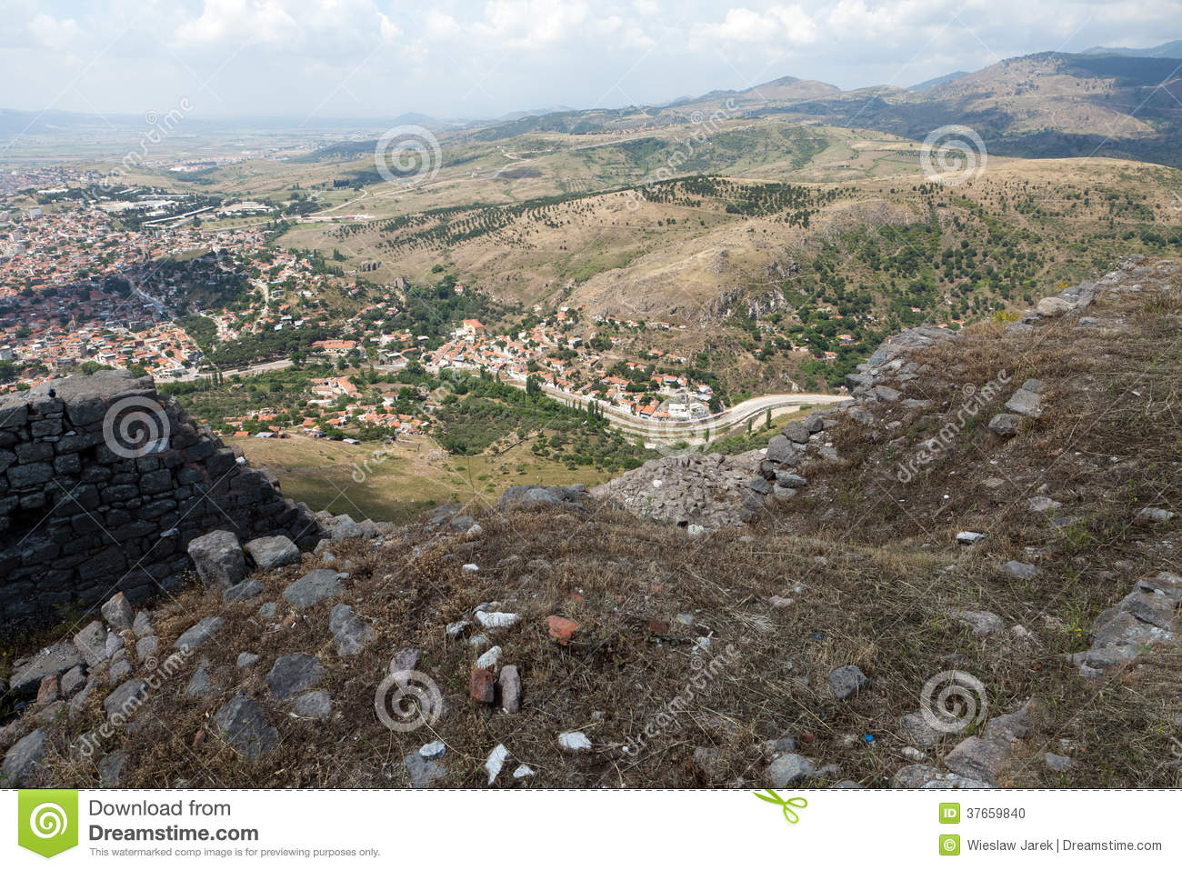 Bergama Stock Photo - Image: 37659840
