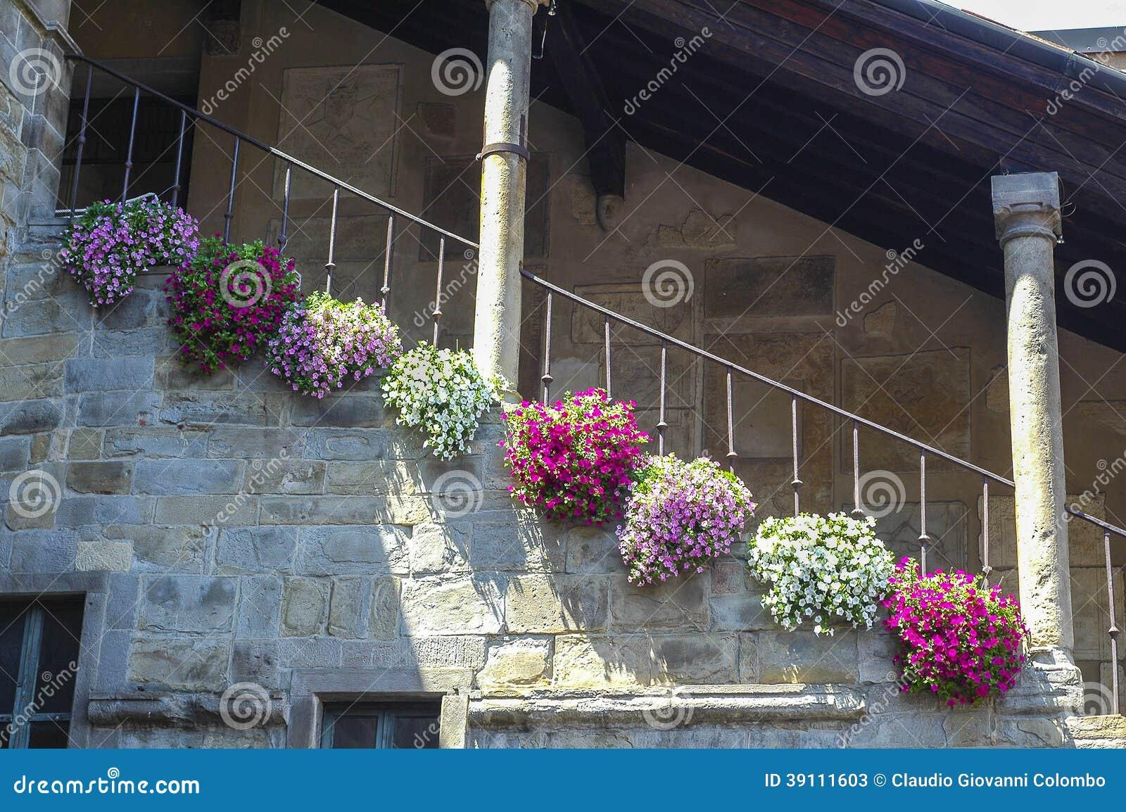 Bergamo, de historische bouw