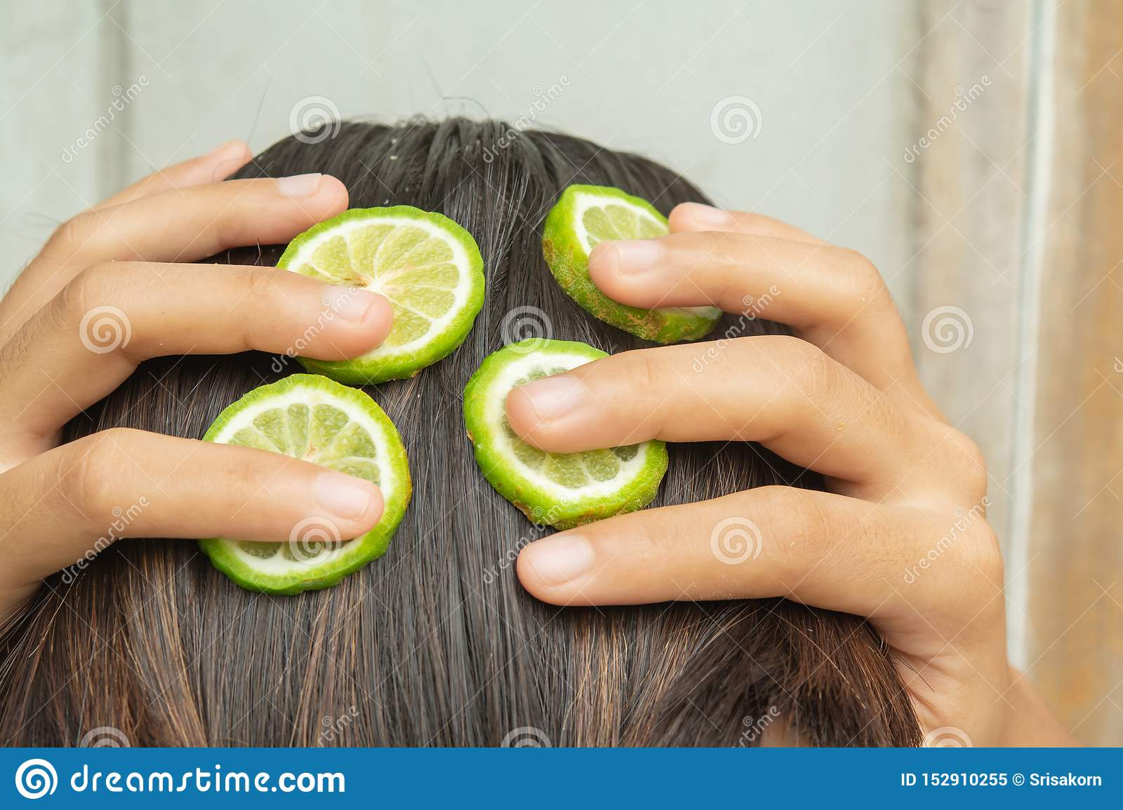 Bergamot and treatment of hair and scalp