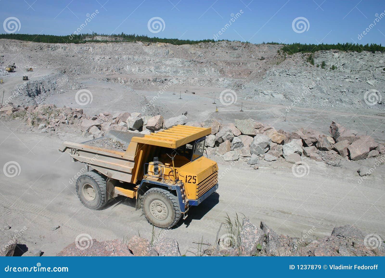 Bergbau-LKW