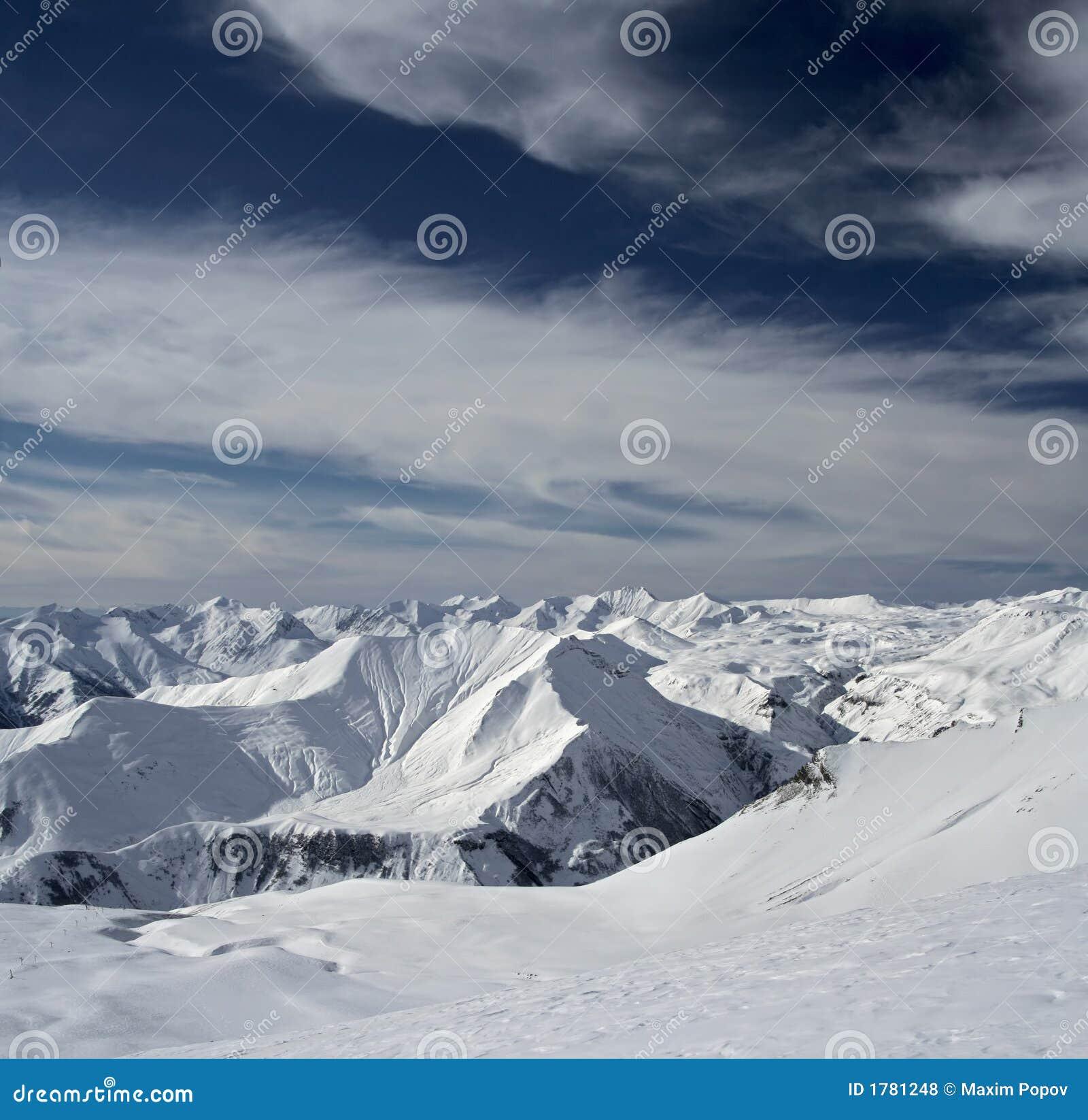 Berge in Georgia