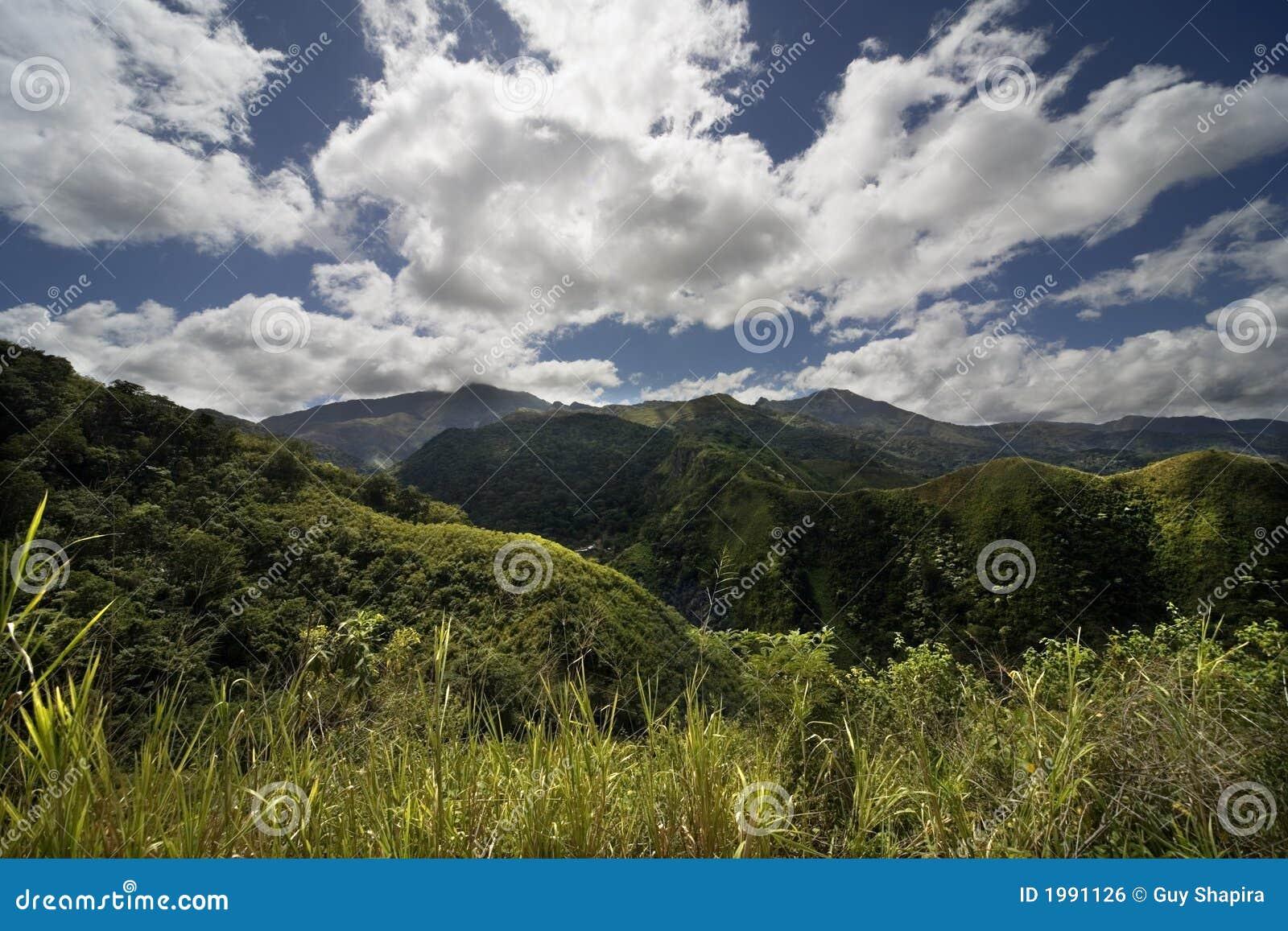Berge Hugel Wiese Stockfoto Bild Von Venezuela Berge 1991126