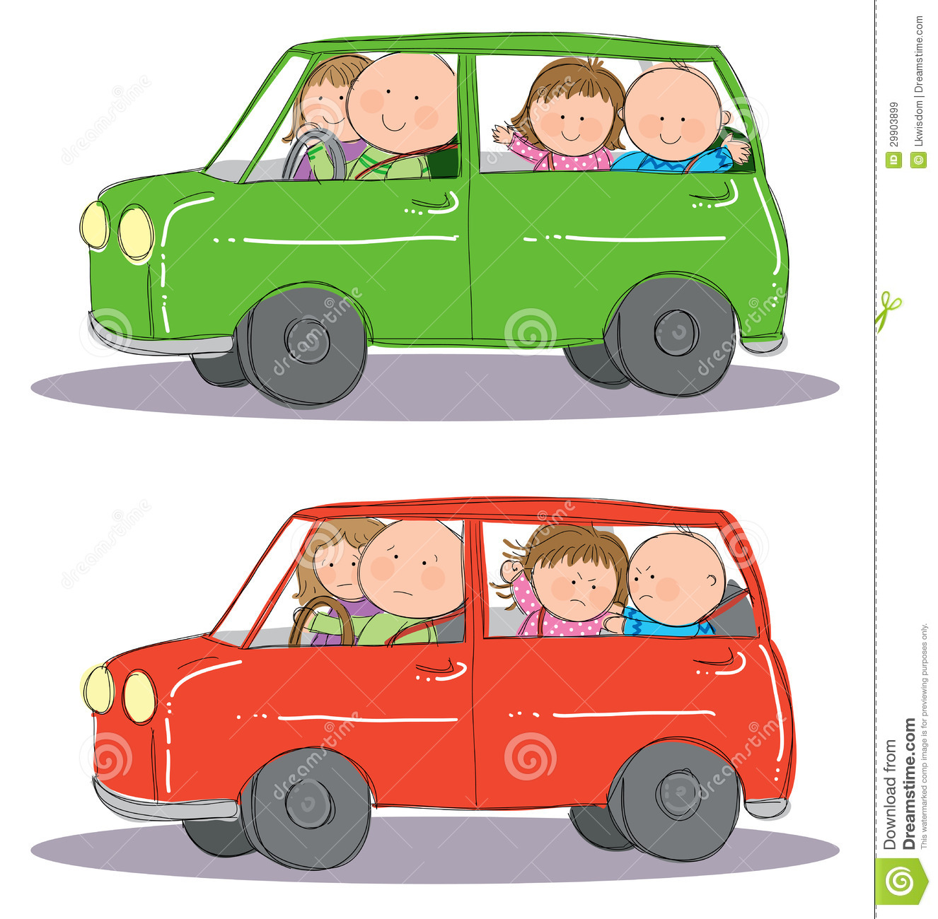 driving car clip art
