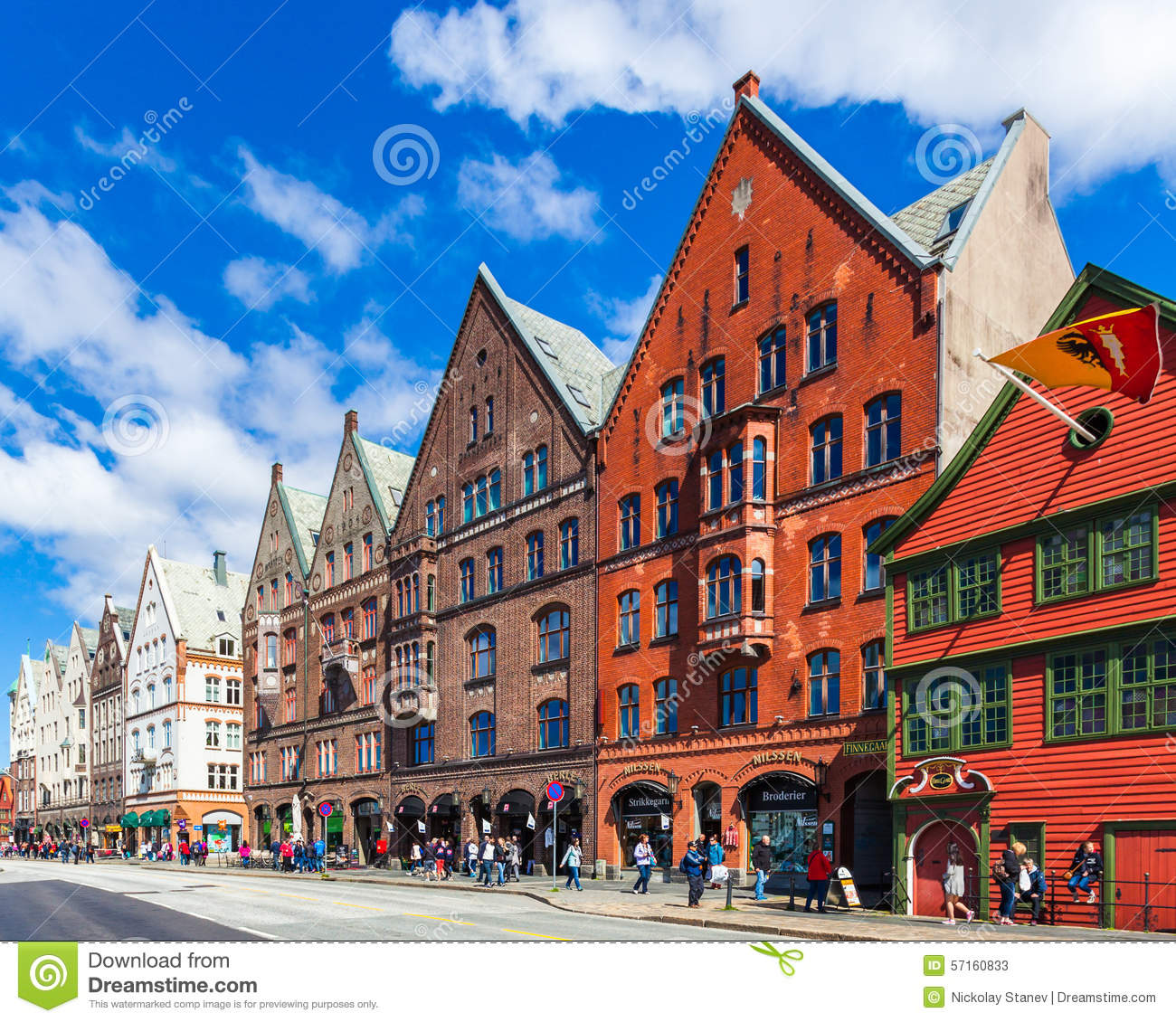 Bergen bryggen editorial stock photo image 57160833 for Homepage shop
