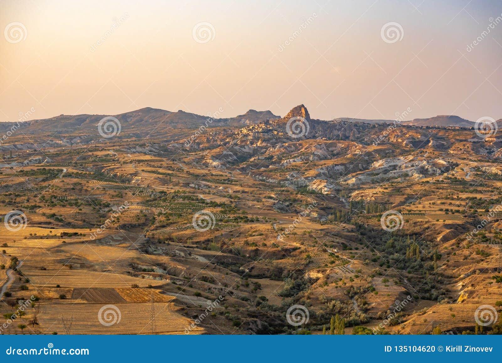 Bergen in Cappadocia