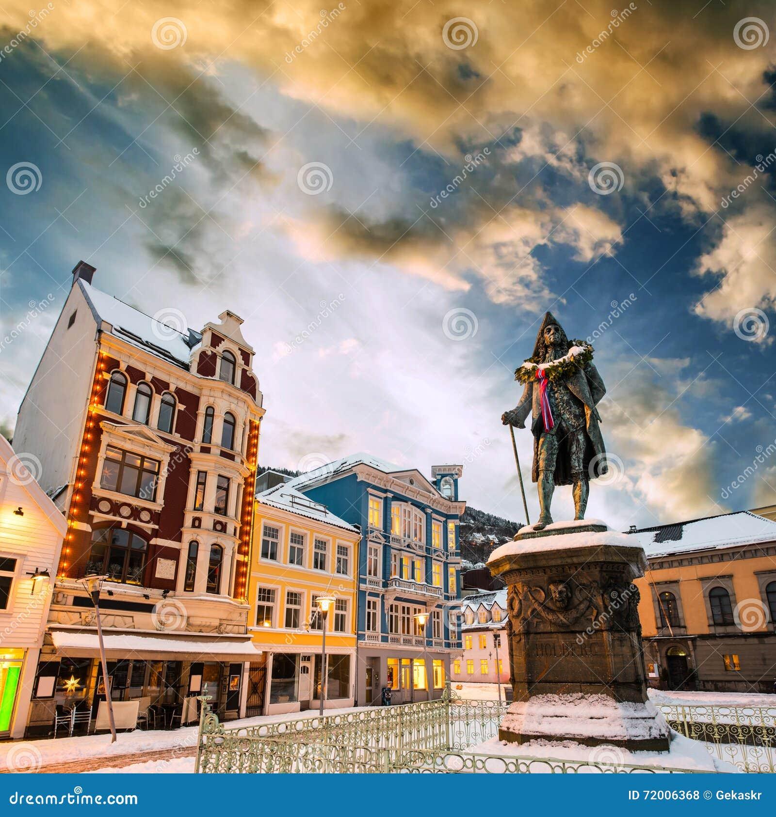 Bergen At Christmas Stock Photo - Image: 72006368