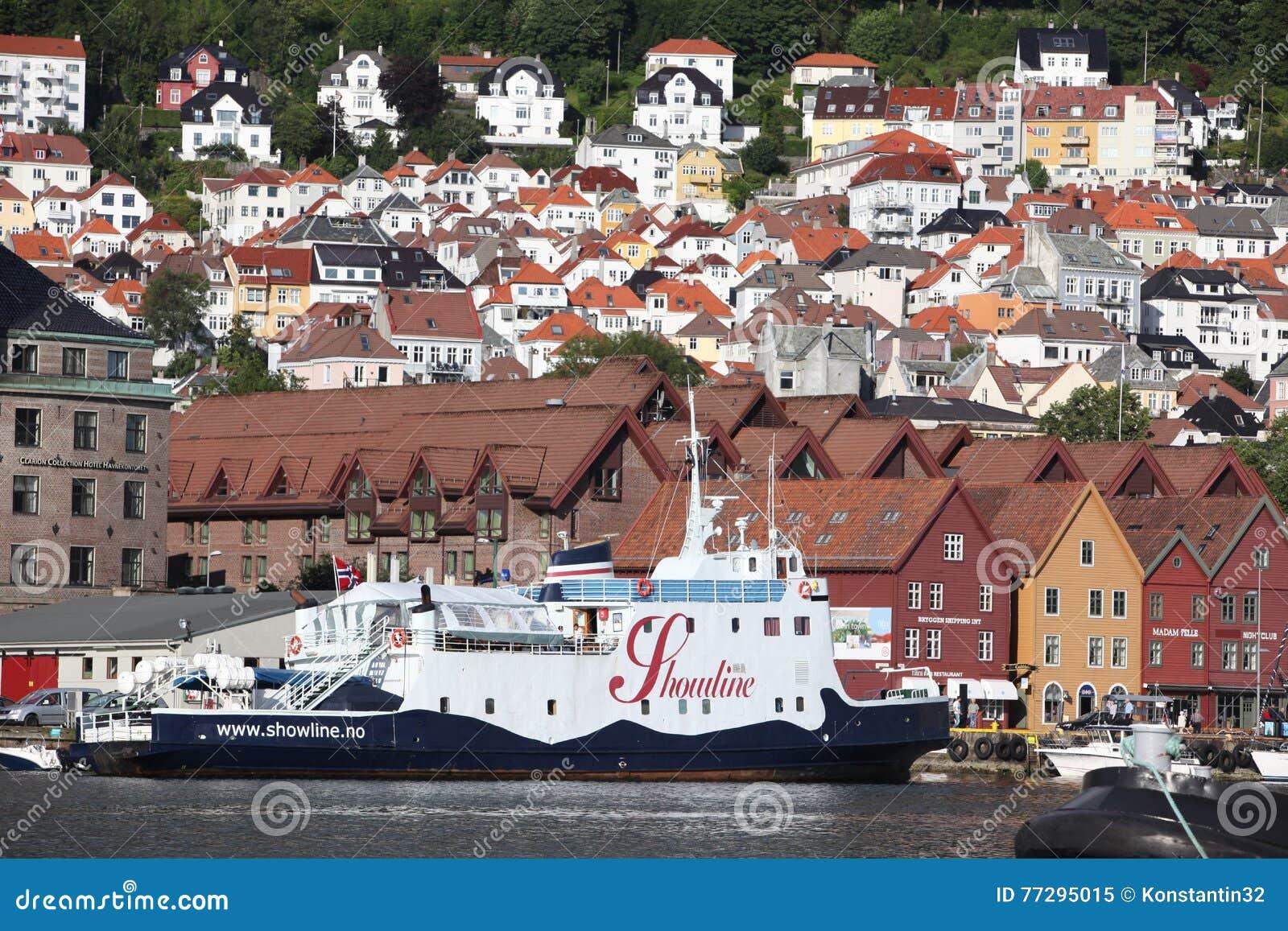bergen norge turist