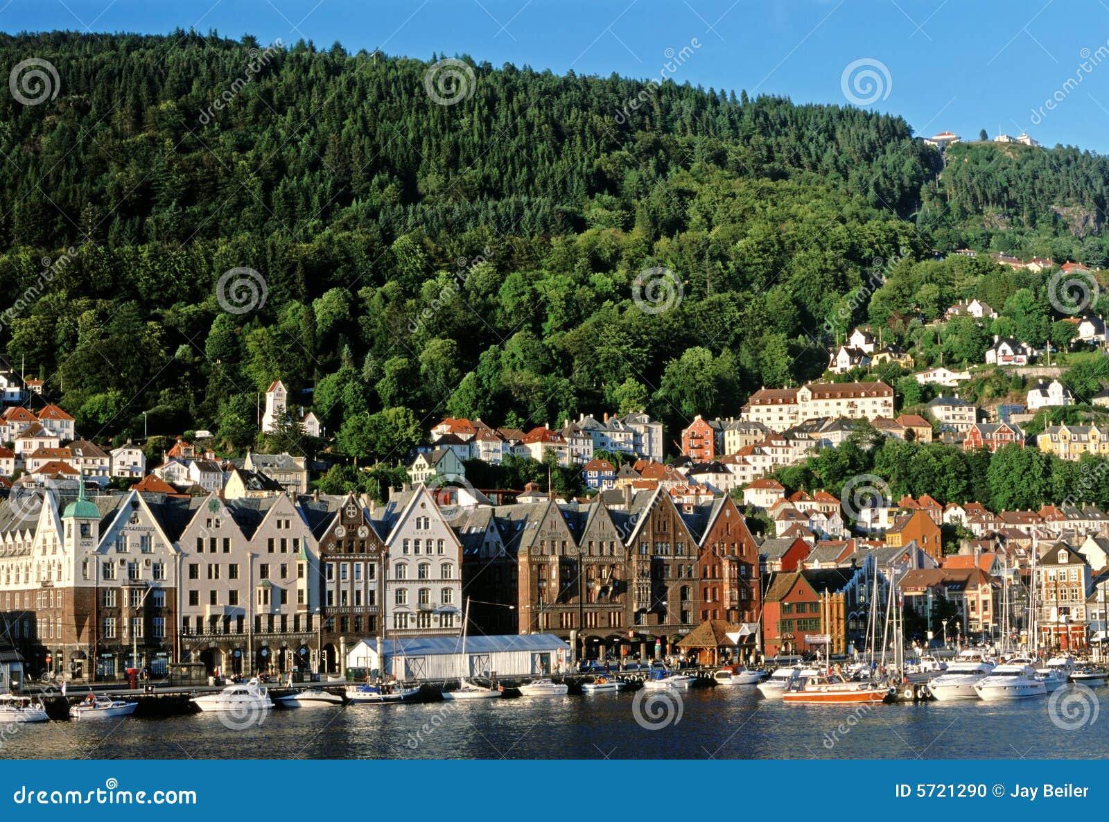 Bergen, Norway, harbor