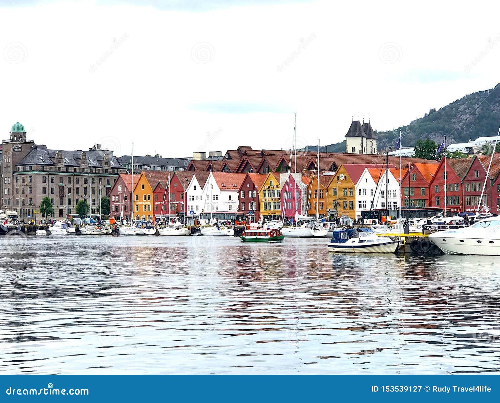 Bergen schronienie Norwegia