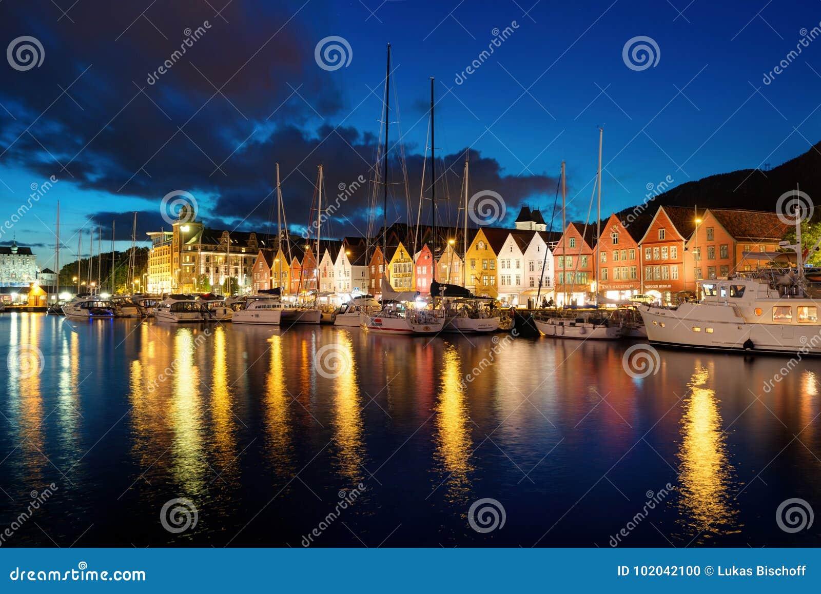 Bergen Sunset Norway