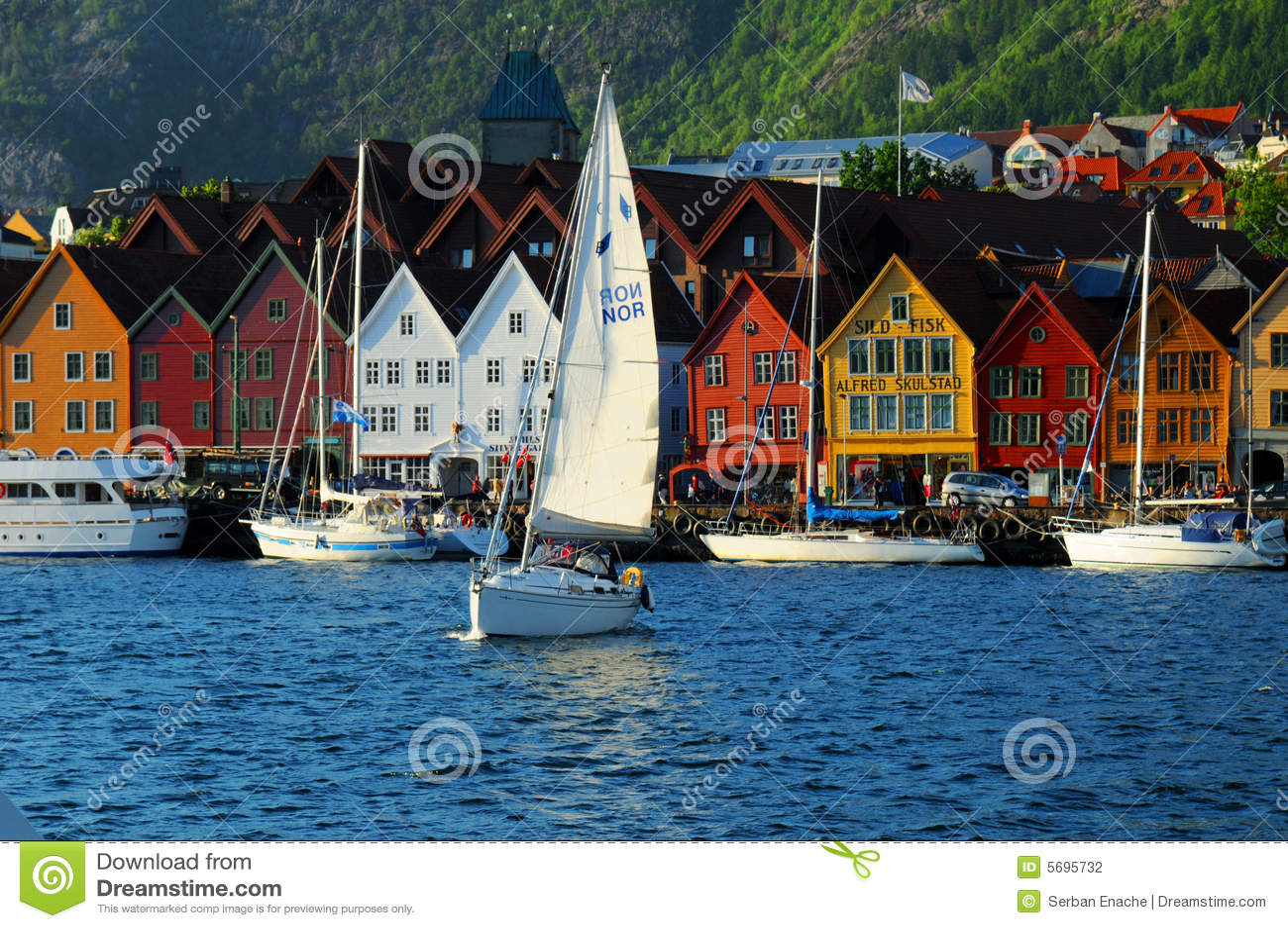 Bergen-Ufergegend, Norwegen