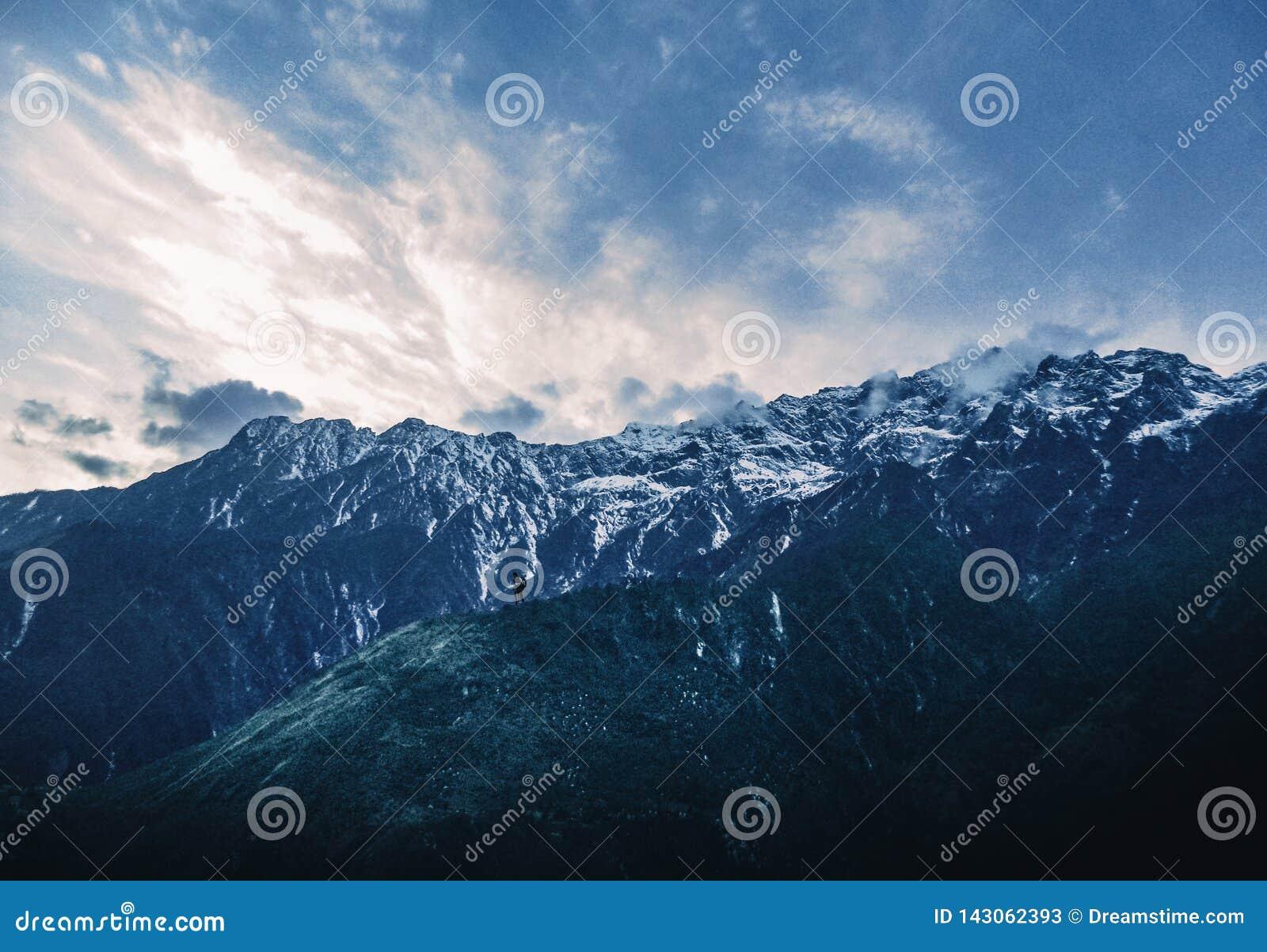 Berget och mannen