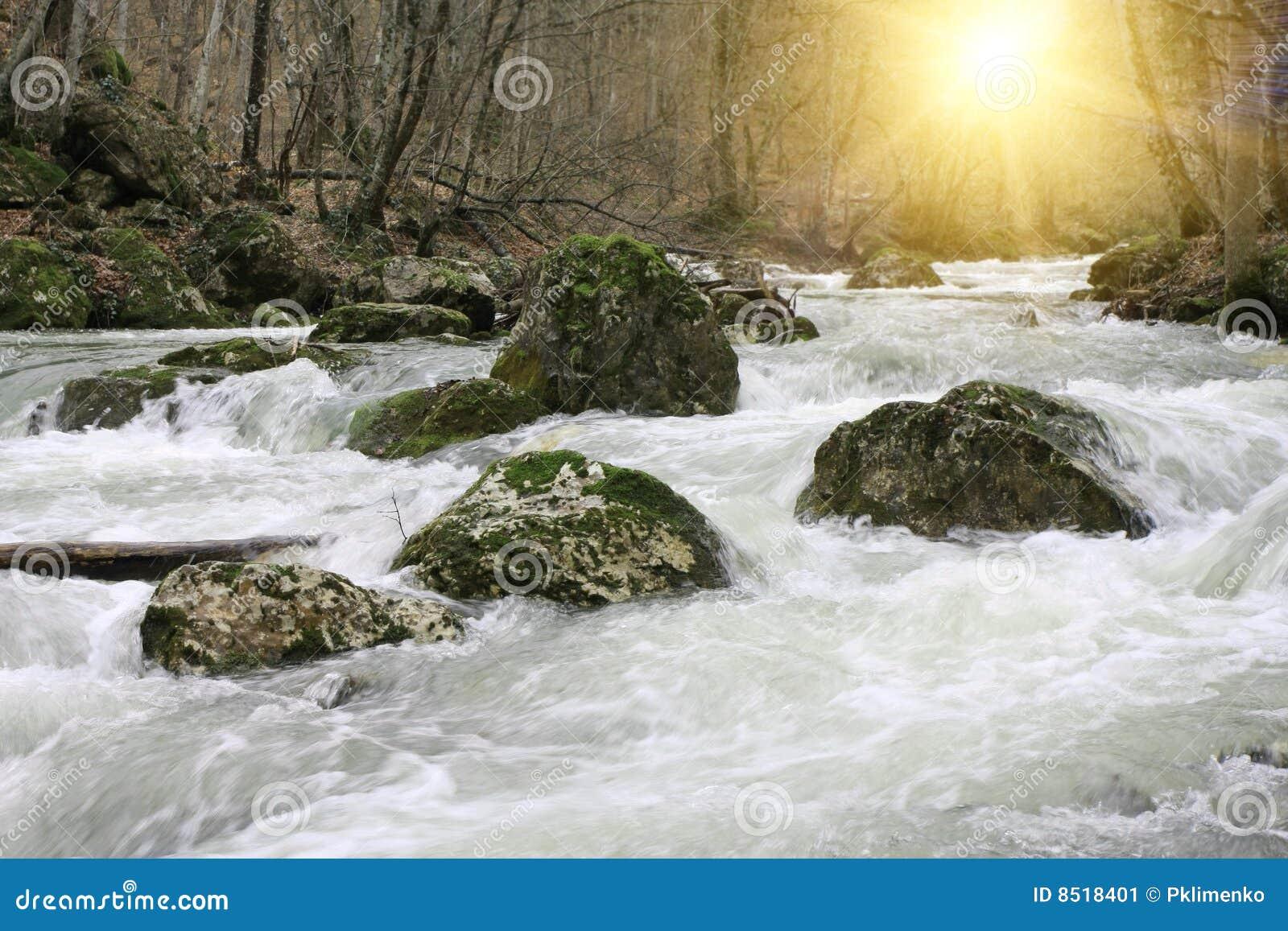 Bergflodkörning