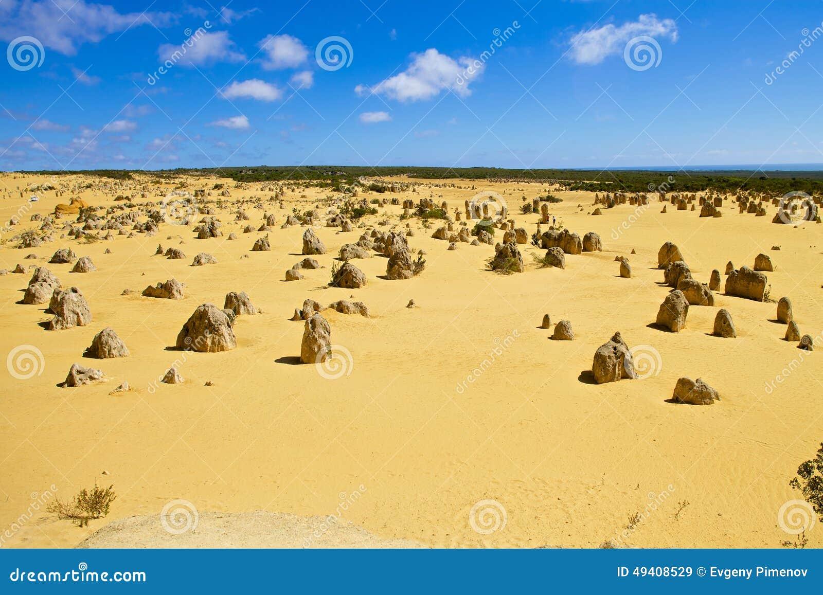 Download Berggipfelwüste In Westaustralien Stockbild - Bild von wüste, wald: 49408529