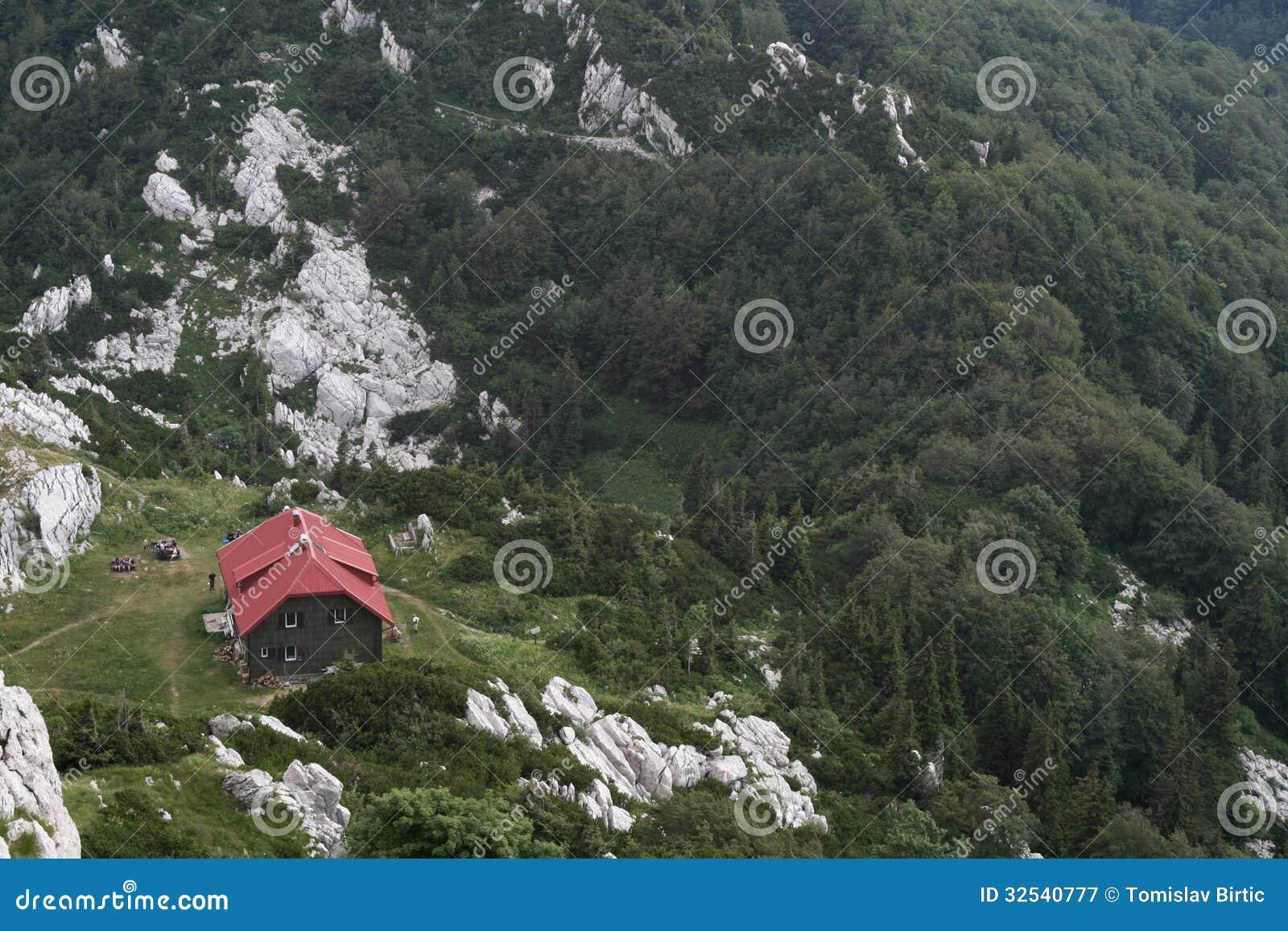 Berghut in Nationaal Park