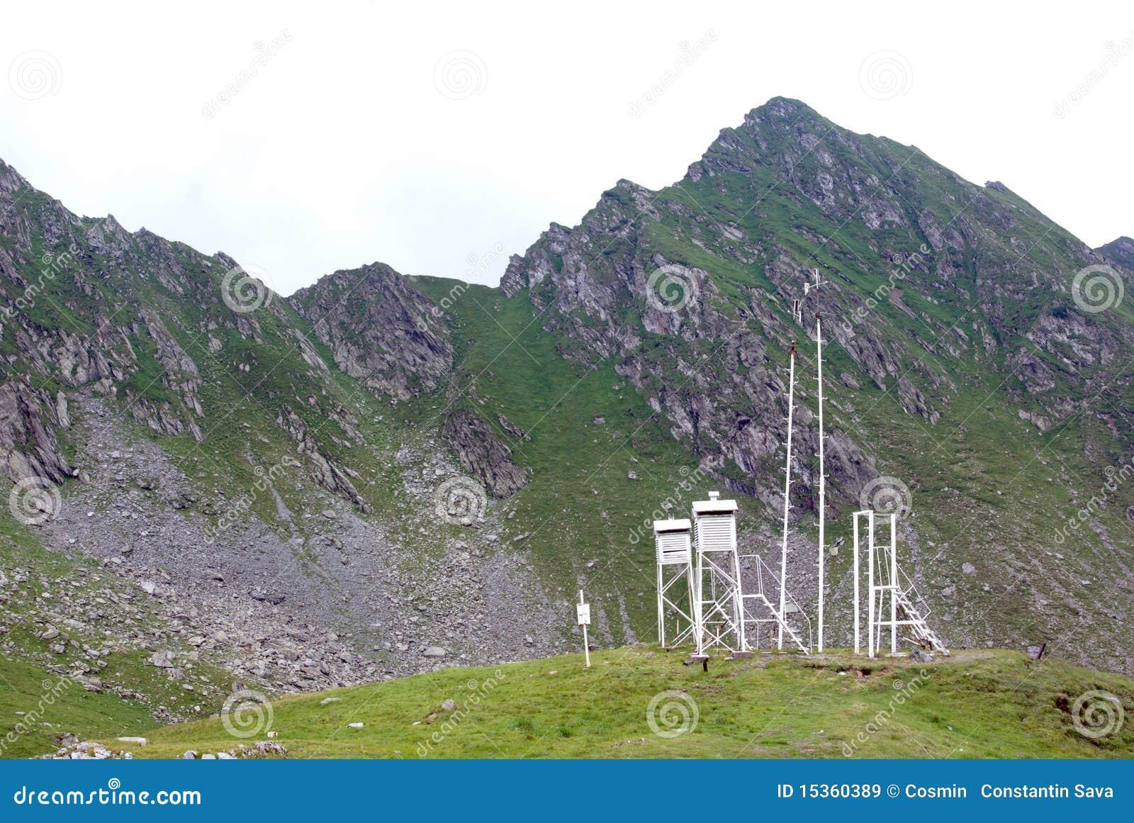 Bergstationsväder