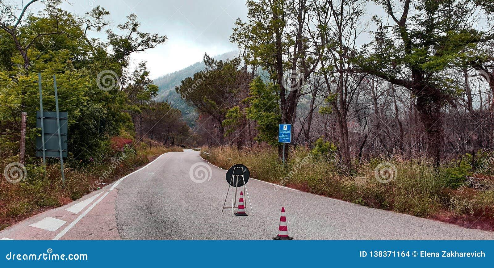 Bergvägreparation