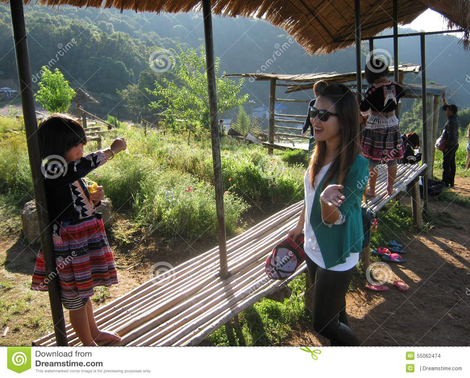 Bergvölker von Thailand