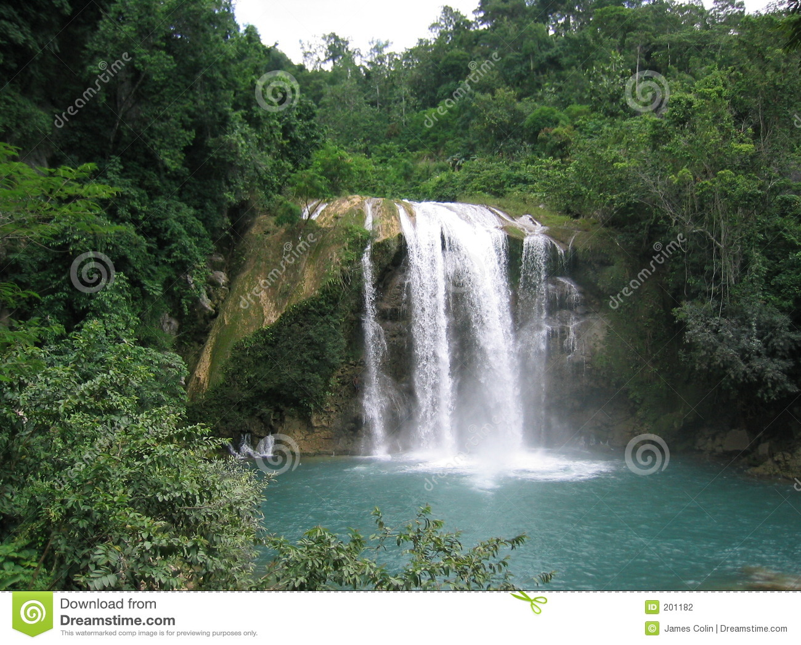 Bergvattenfall