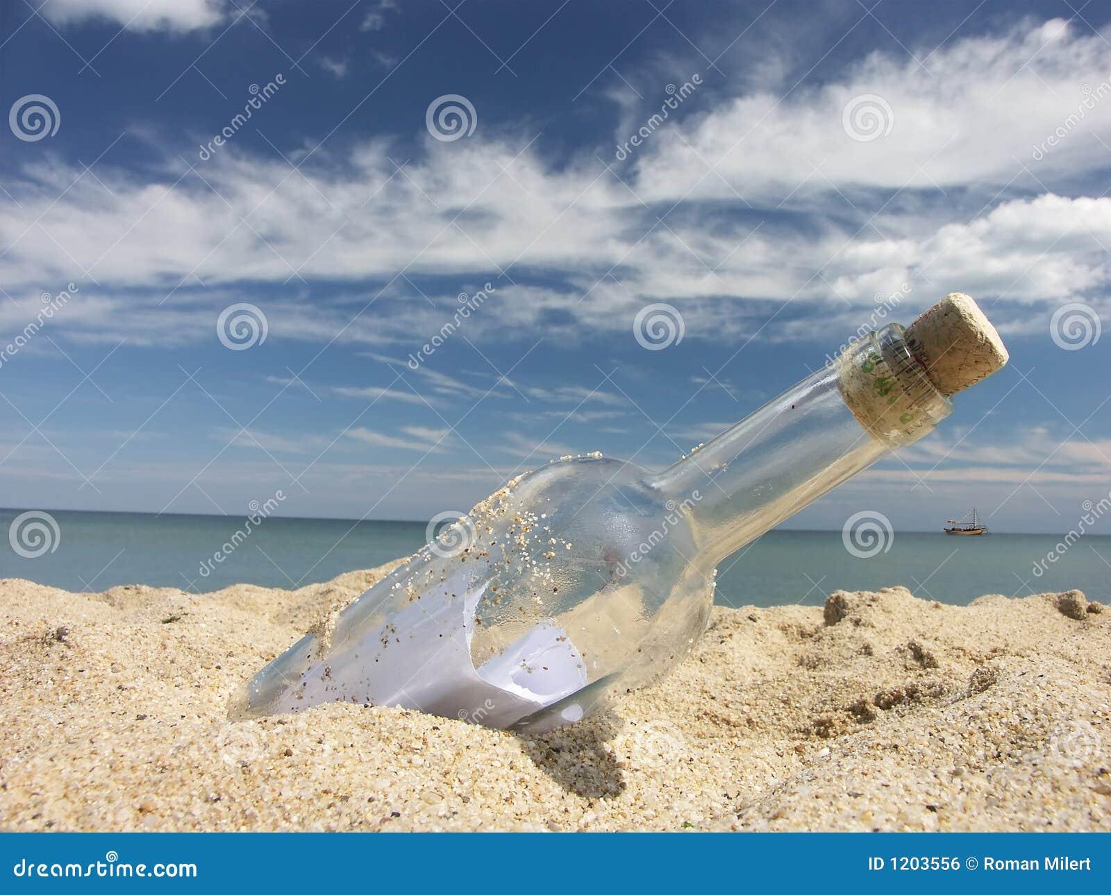 Bericht in de fles