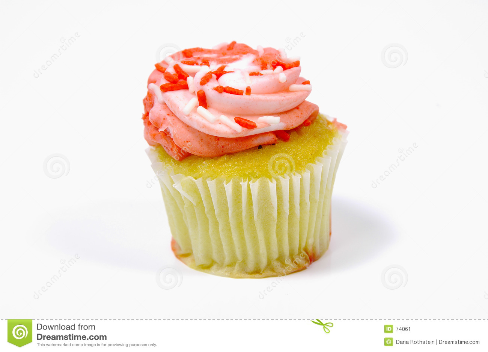 Berijpte Cupcake