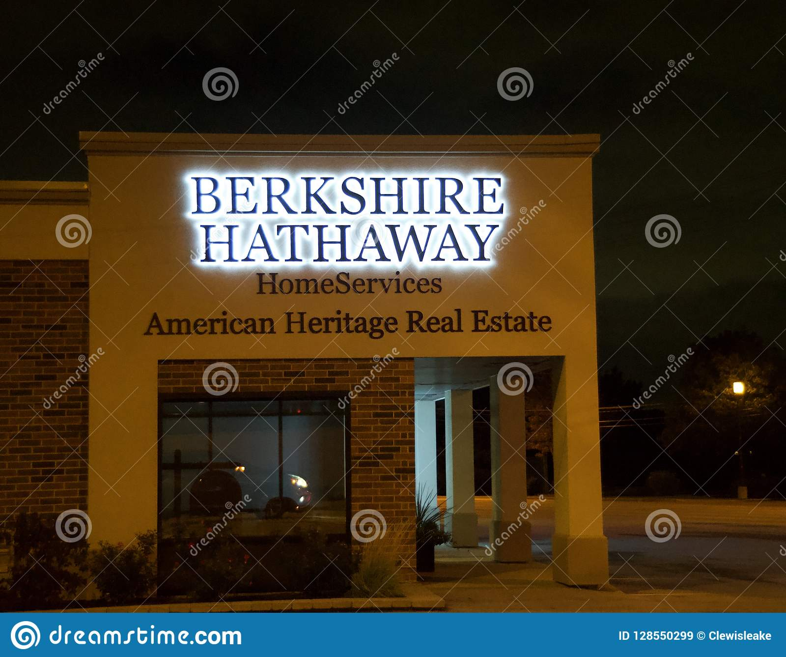 Berkshire Hathaway Home Services Editorial Stock Image