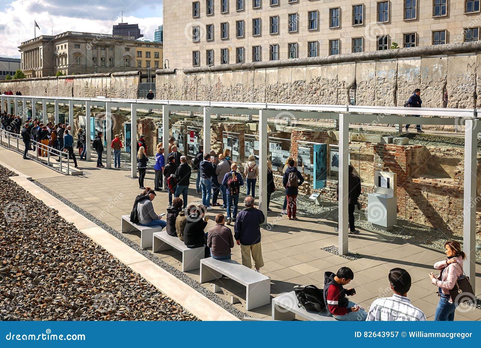 Berlińska ściana, terenoznawstwo terror