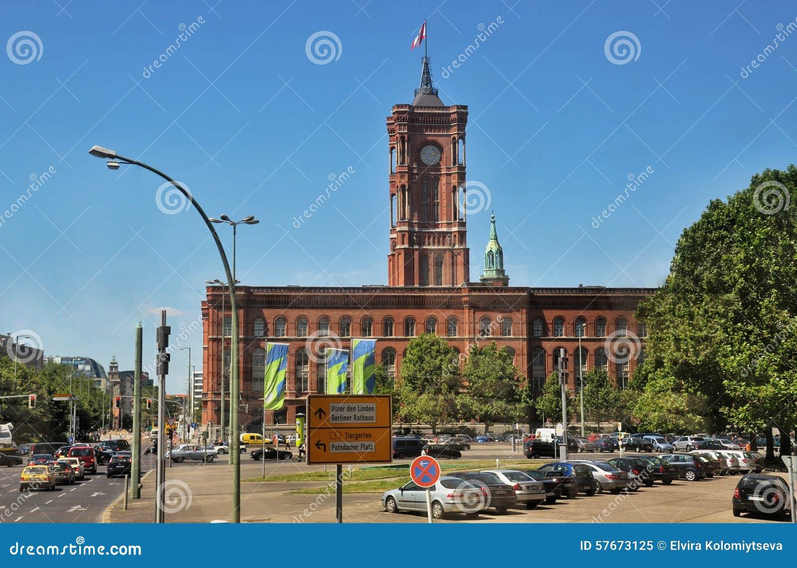 Berliński urząd miasta, Niemcy