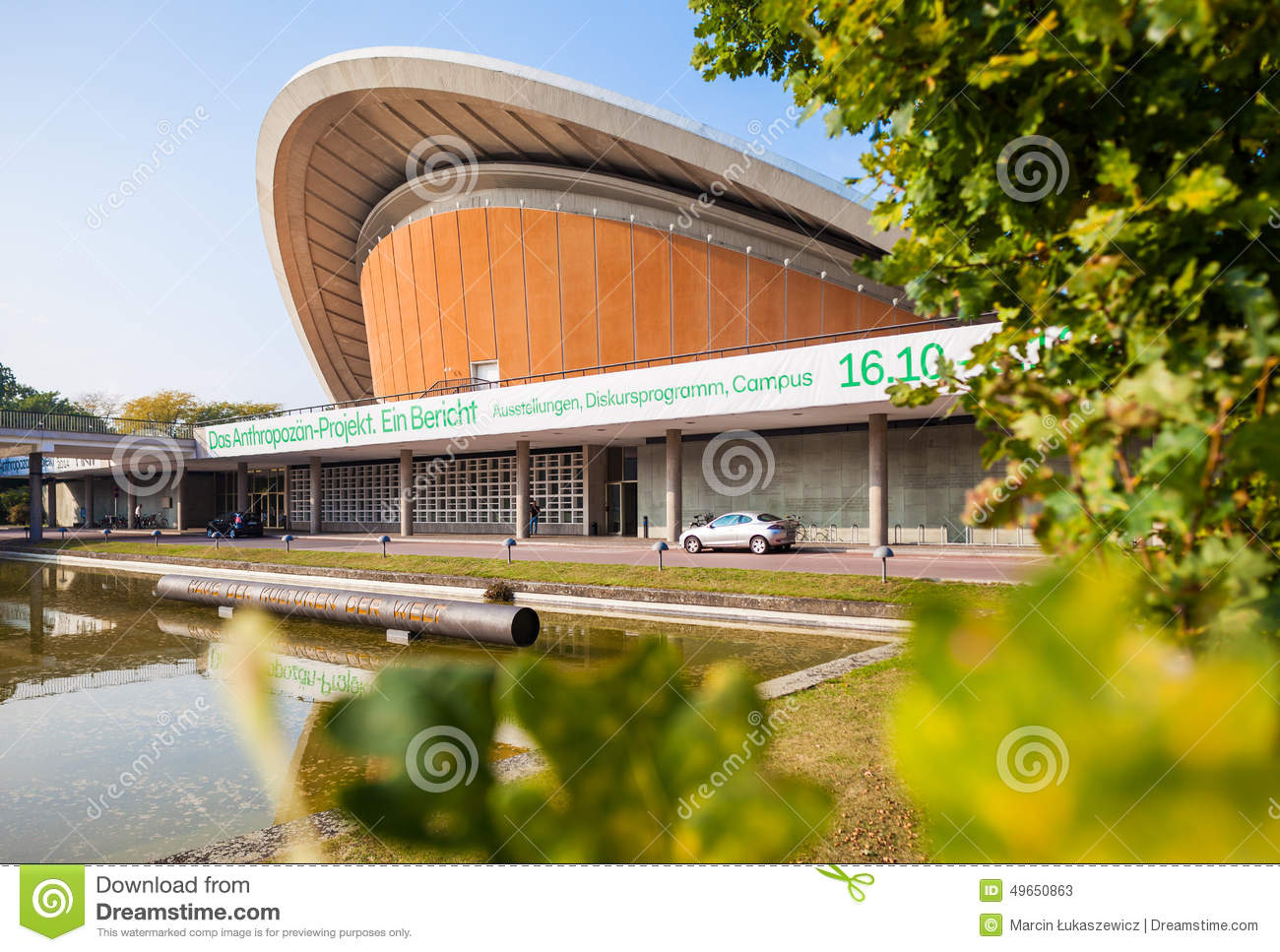 Berlin germany house of the cultures of the world editorial stock photo