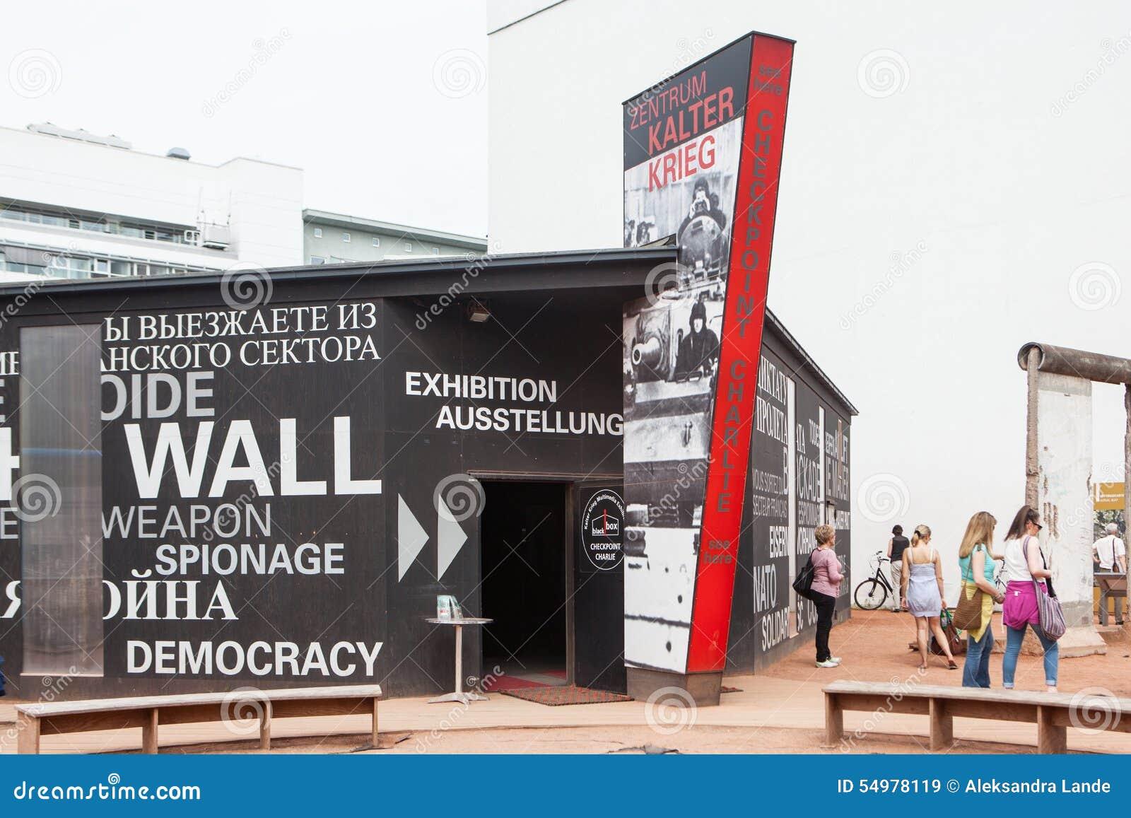 Berlijn, Duitsland Controlepost Charlie
