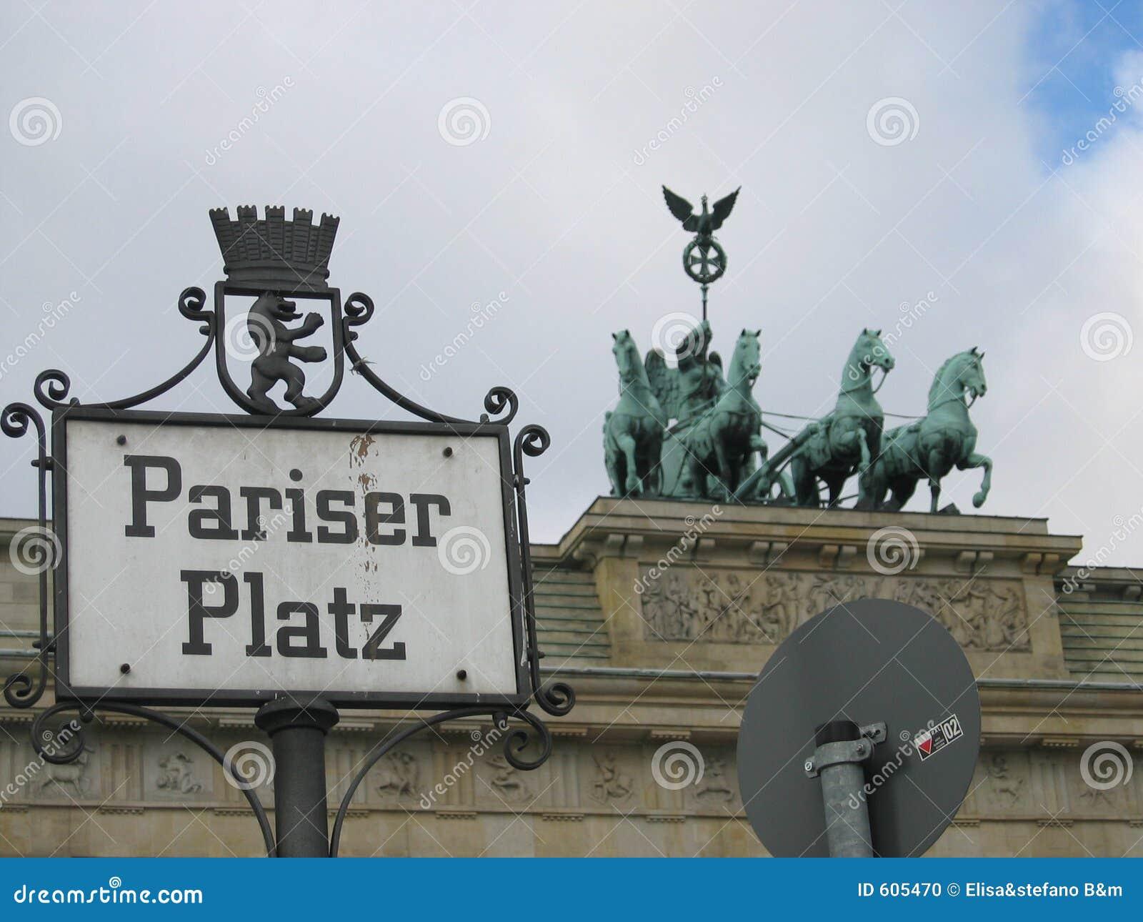 Berlijn Pariser Platz