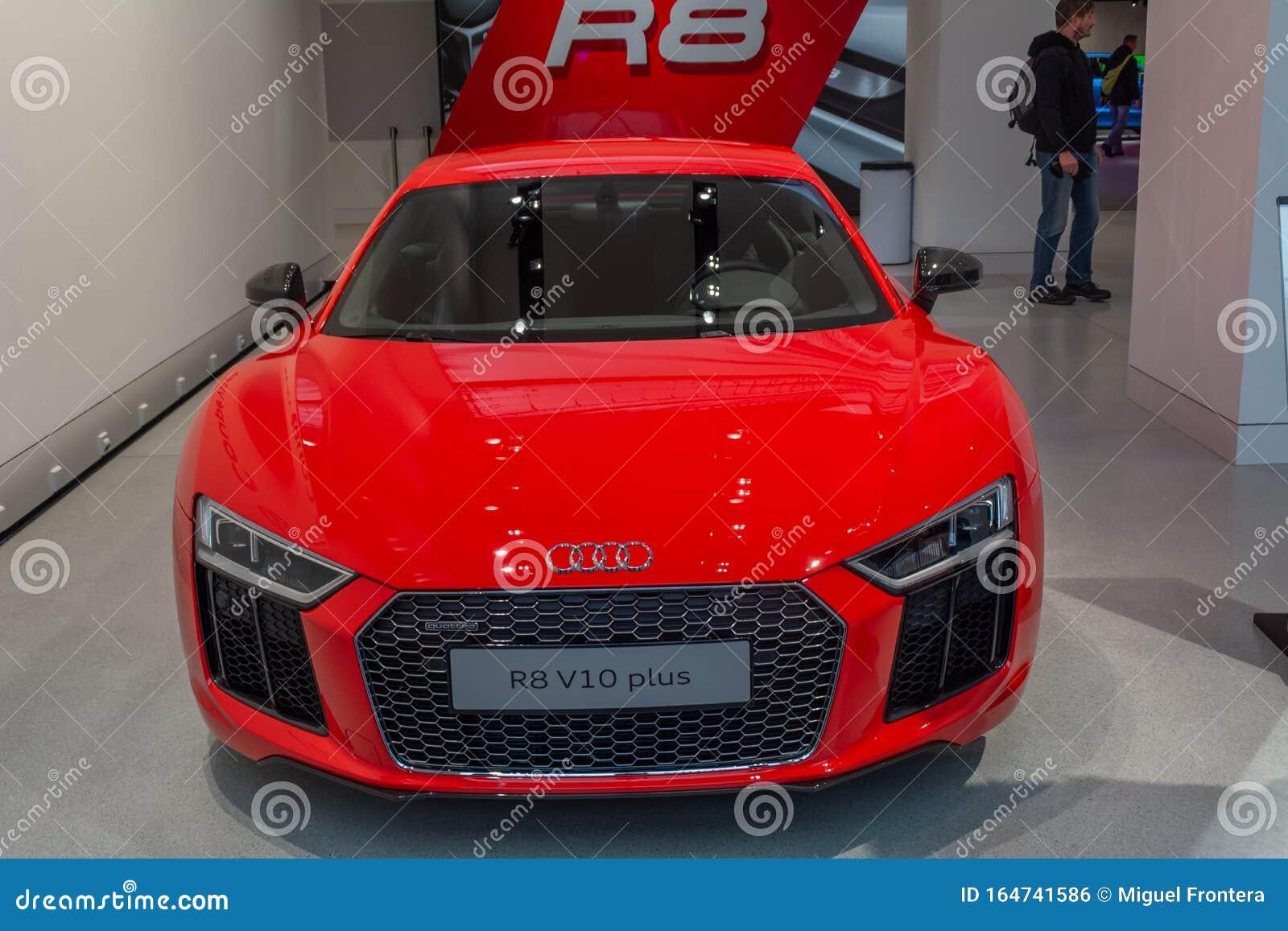 Audi R8 V10 In The Volkswagen Forum Berlin Editorial Photo Image Of International Automotive 164741586