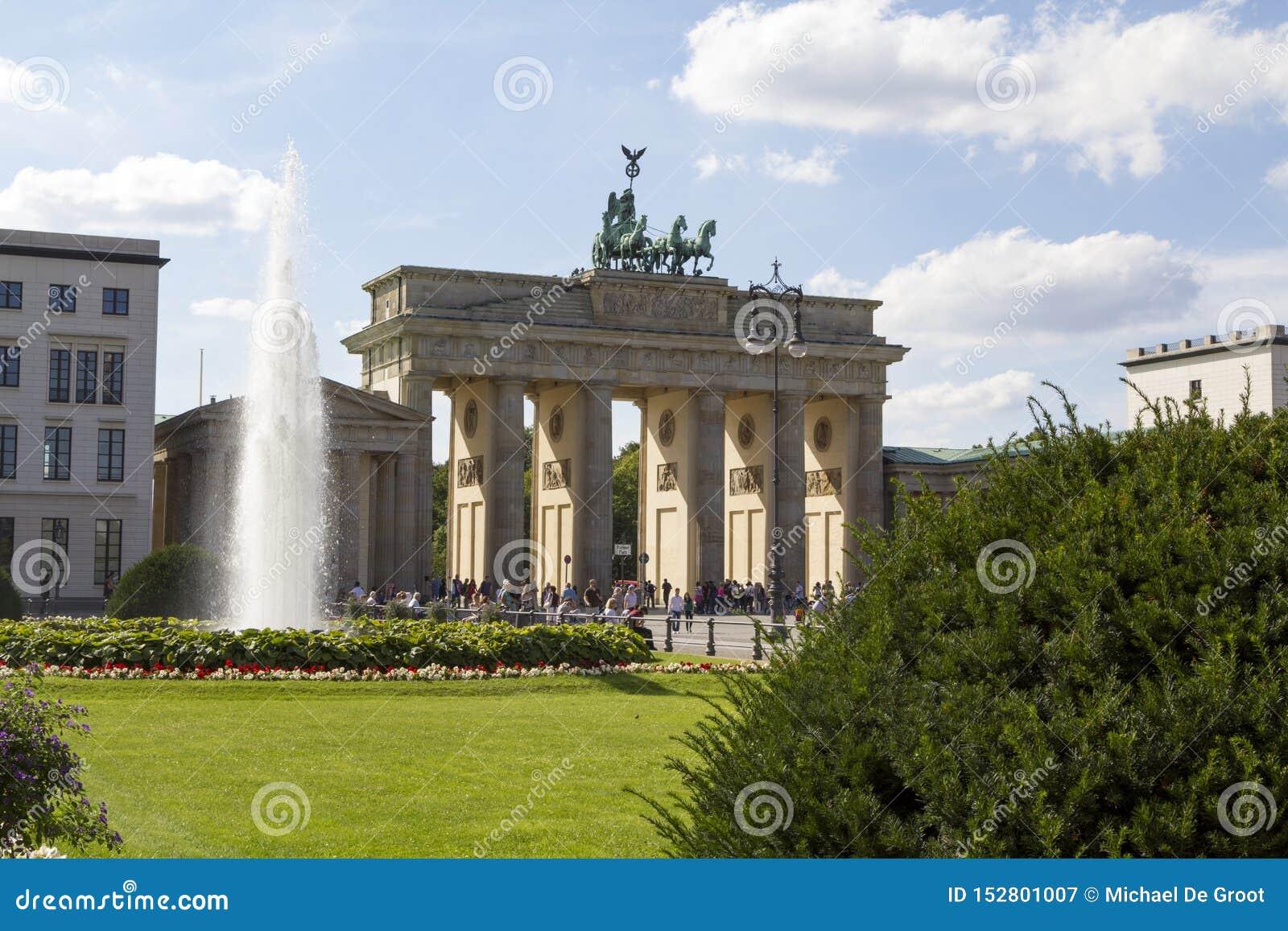 Berlin Brandenburg Gate, Berl?n, Alemania