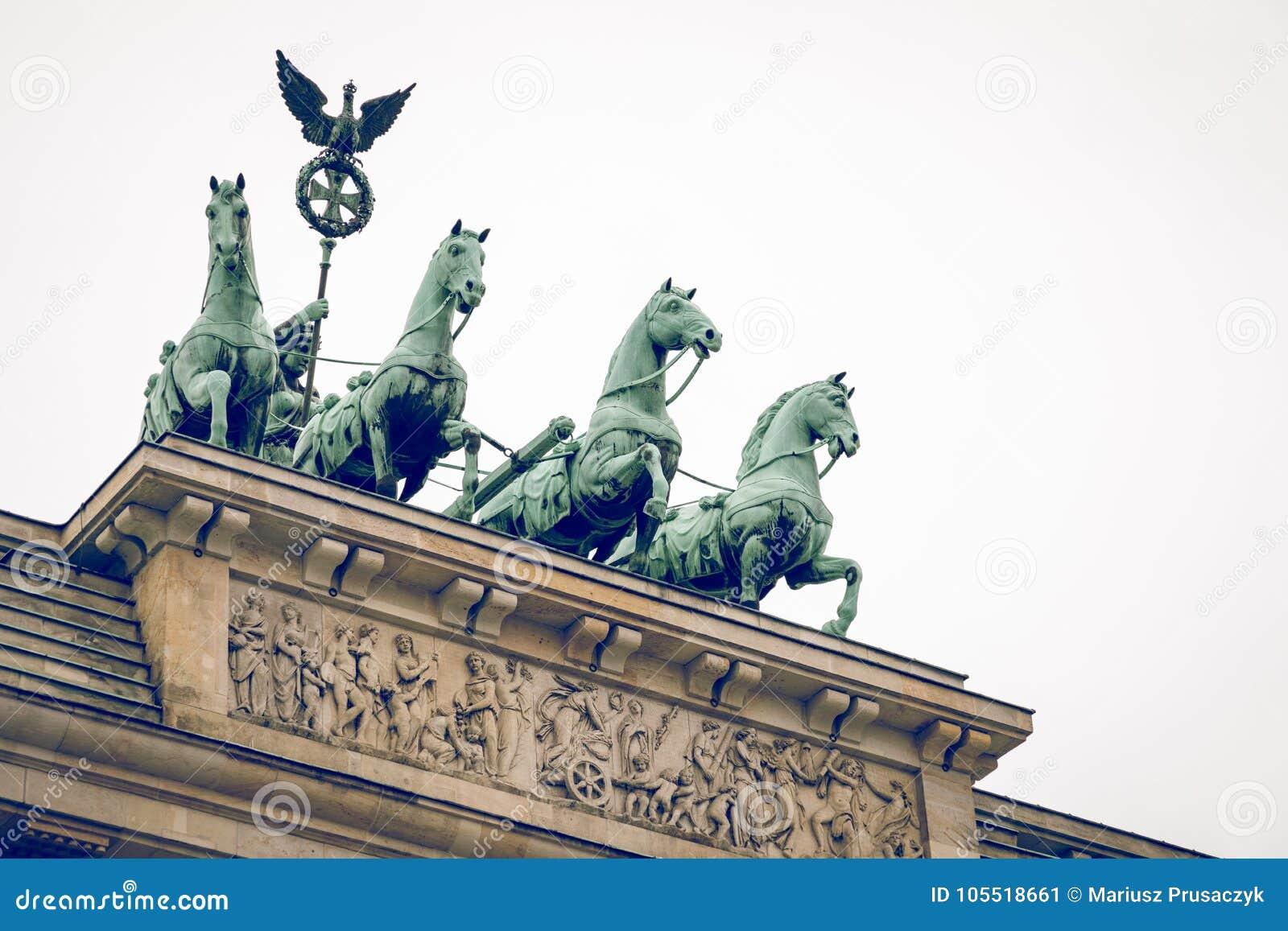 Berlin Brandenburg Gate Brandenburger Tor, Berlín, Alemania