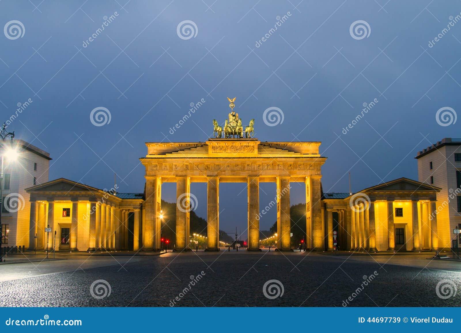 Brandenburg Gate Royalty Free Stock Photo Cartoondealer
