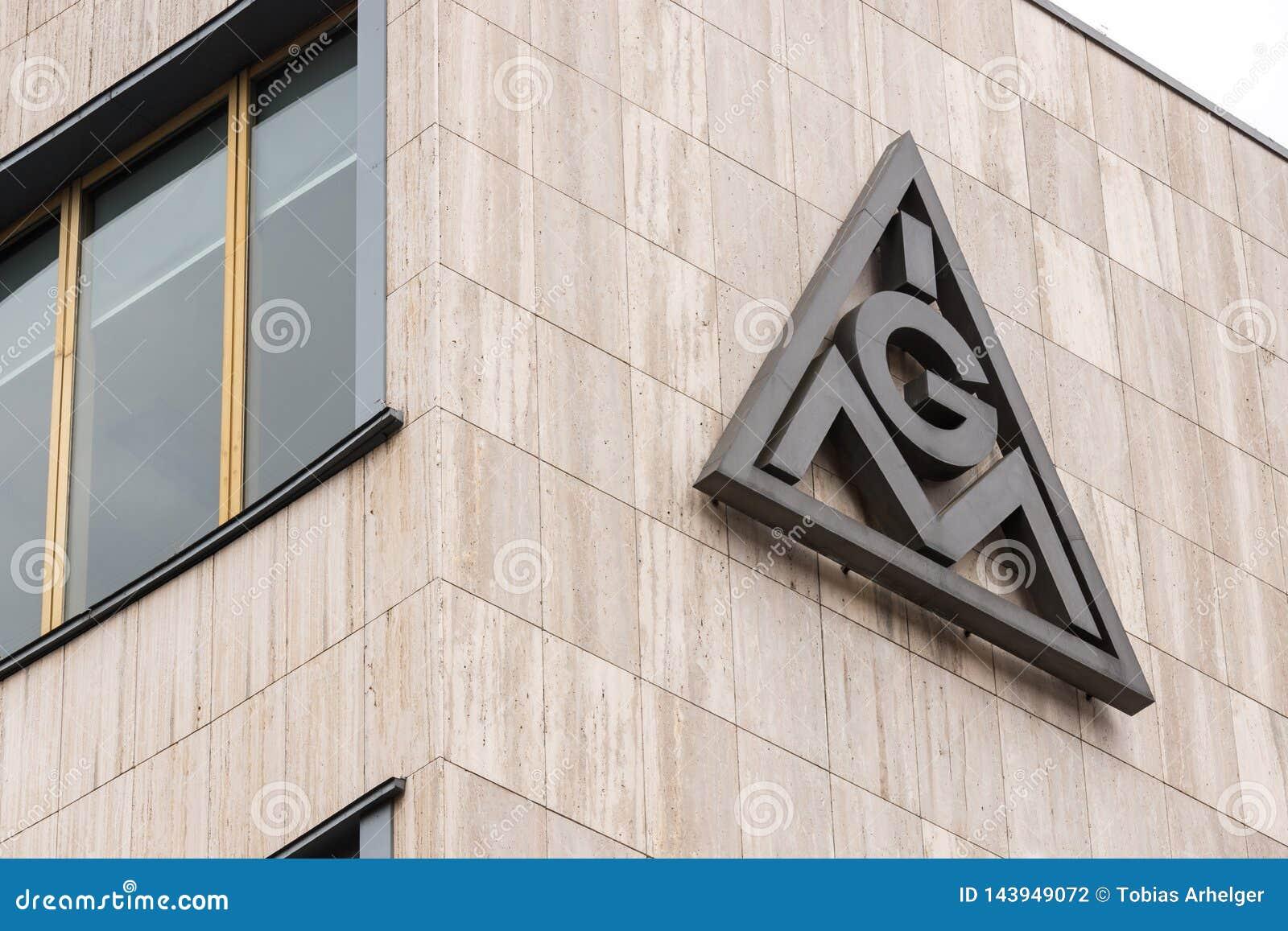 Berlin, brandenburg/germany - 15 03 19: ig metall building  in berlin germany