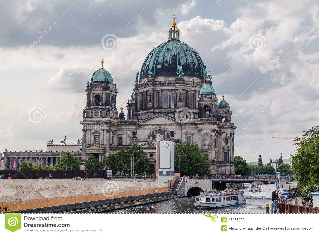berlin cathedral editorial stock photo image 36866208. Black Bedroom Furniture Sets. Home Design Ideas