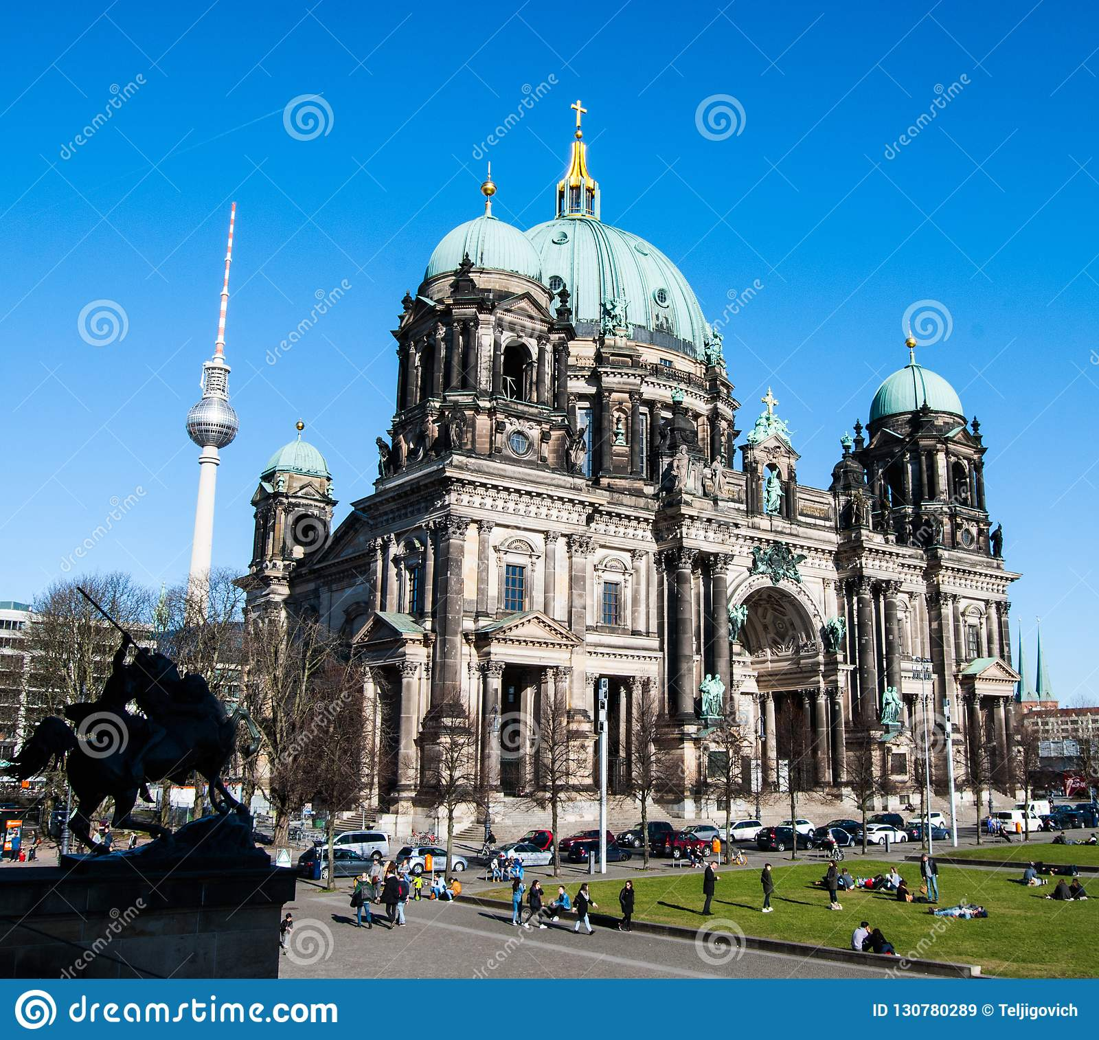 Berlin Cathedral i HDR