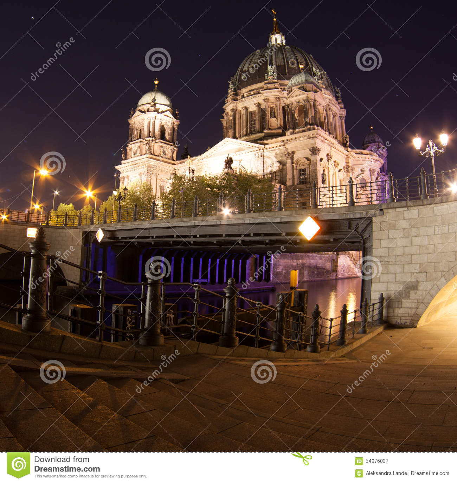 Berlin Cathedral oder Bewohner von Berlin Dom