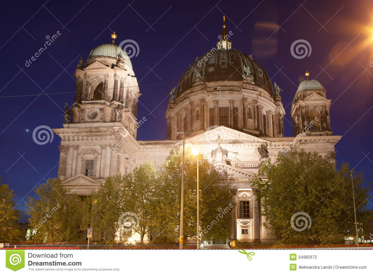 Berlin Cathedral, ou os DOM do berlinês
