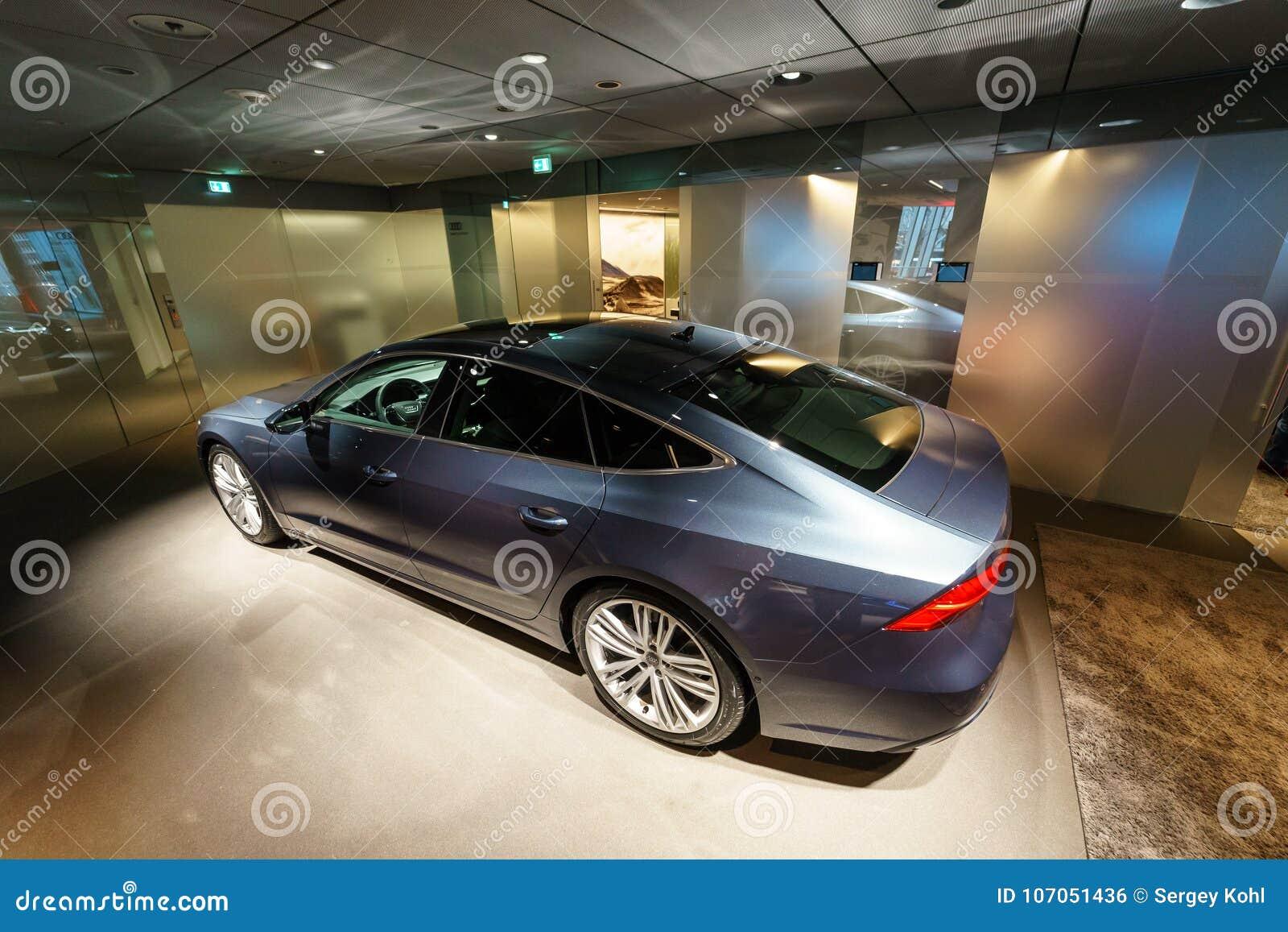 Mid Size Luxury Car Audi A7 Sportback 55 Tfsi Quattro Editorial Automobile S7 Download Photo